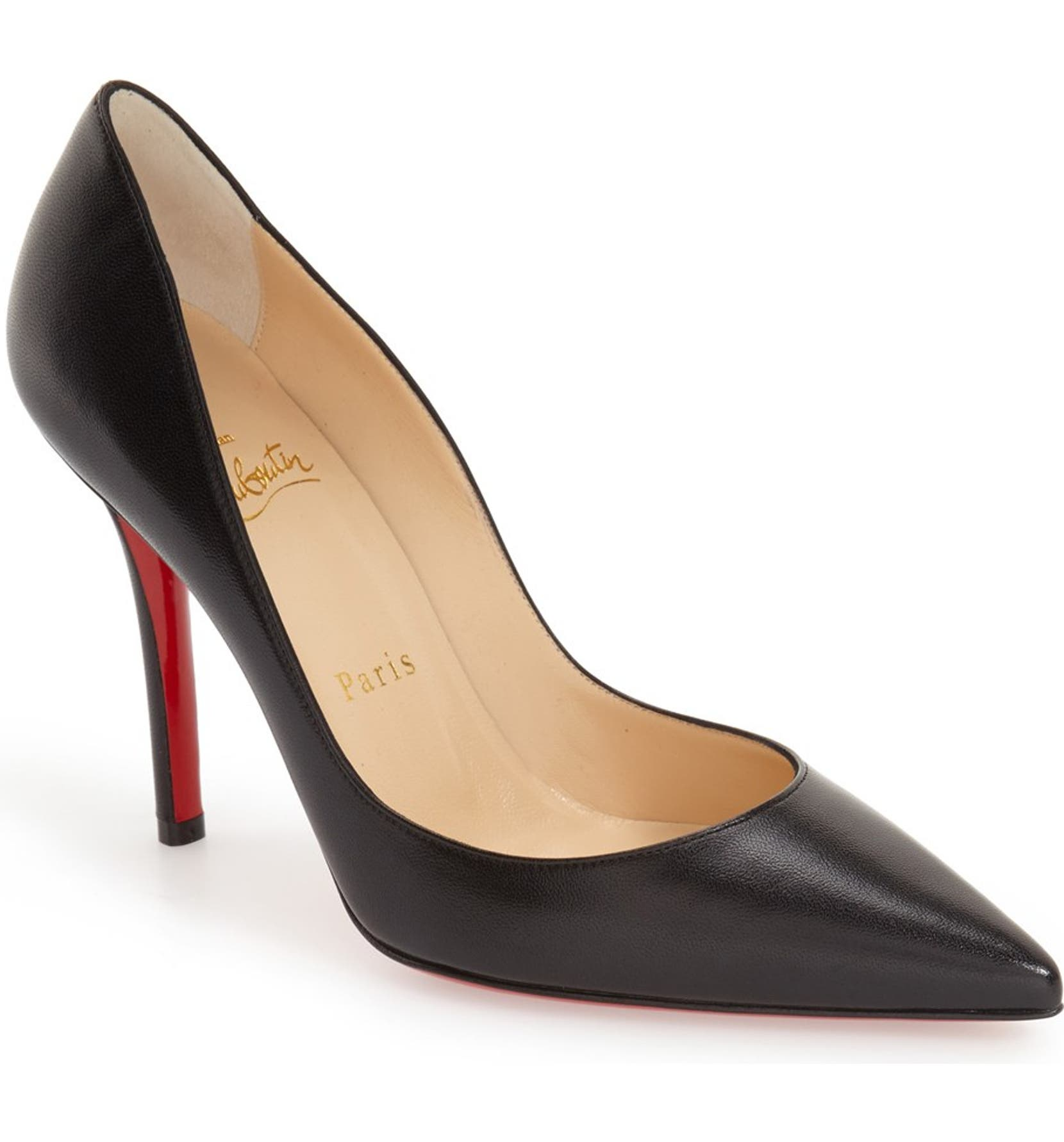 d16264f4291 Christian Louboutin  Apostrophy  Pointy Toe Pump