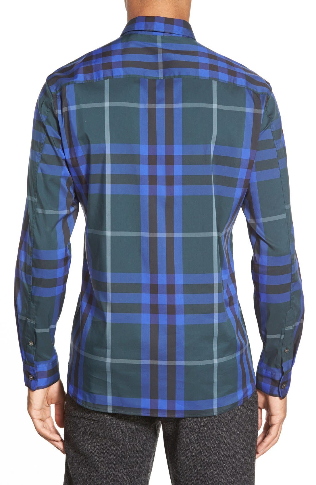 Nelson Check Sport Shirt,                             Alternate thumbnail 37, color,