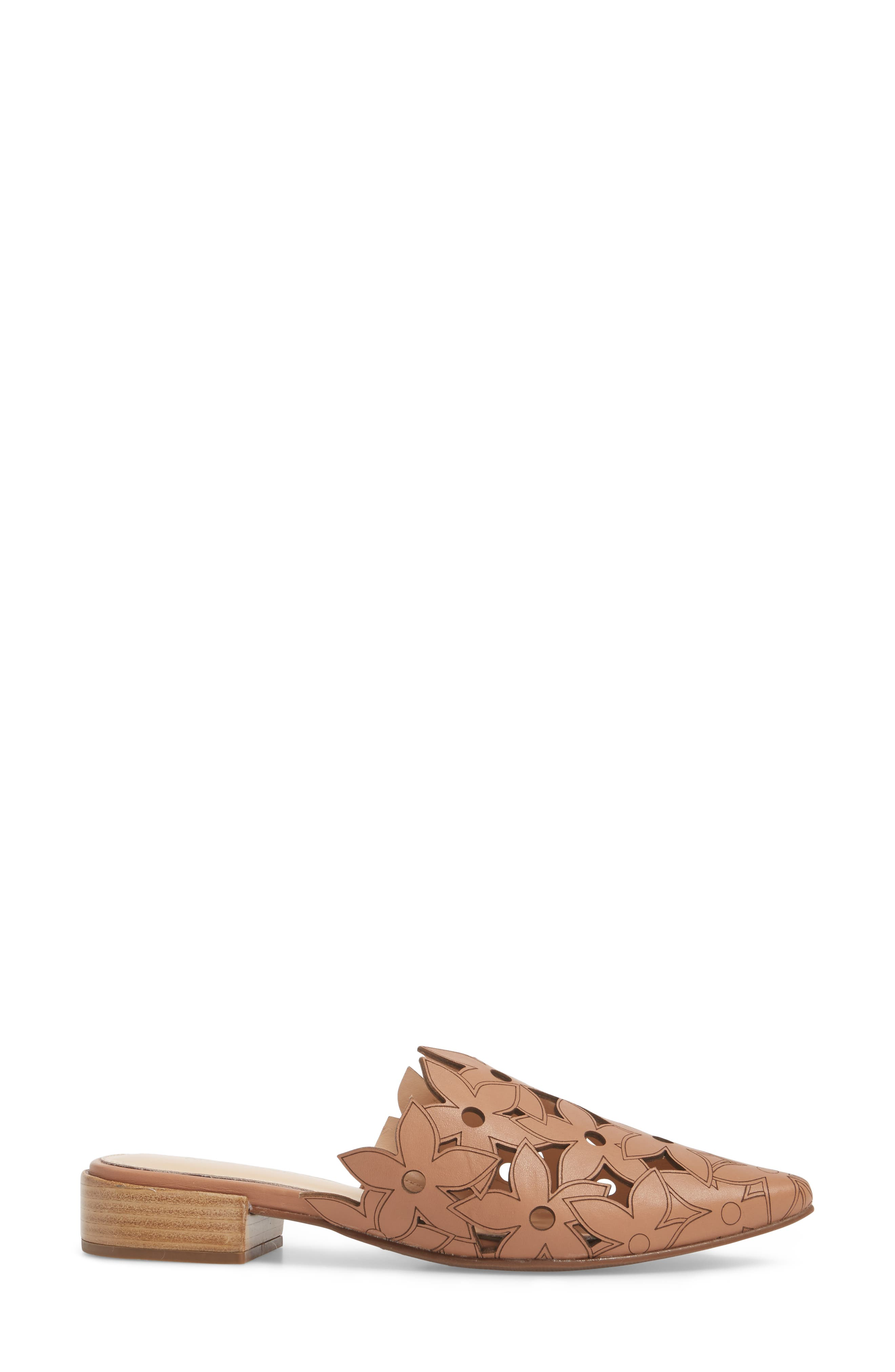 Gianni Mule,                             Alternate thumbnail 3, color,                             NUDE LEATHER