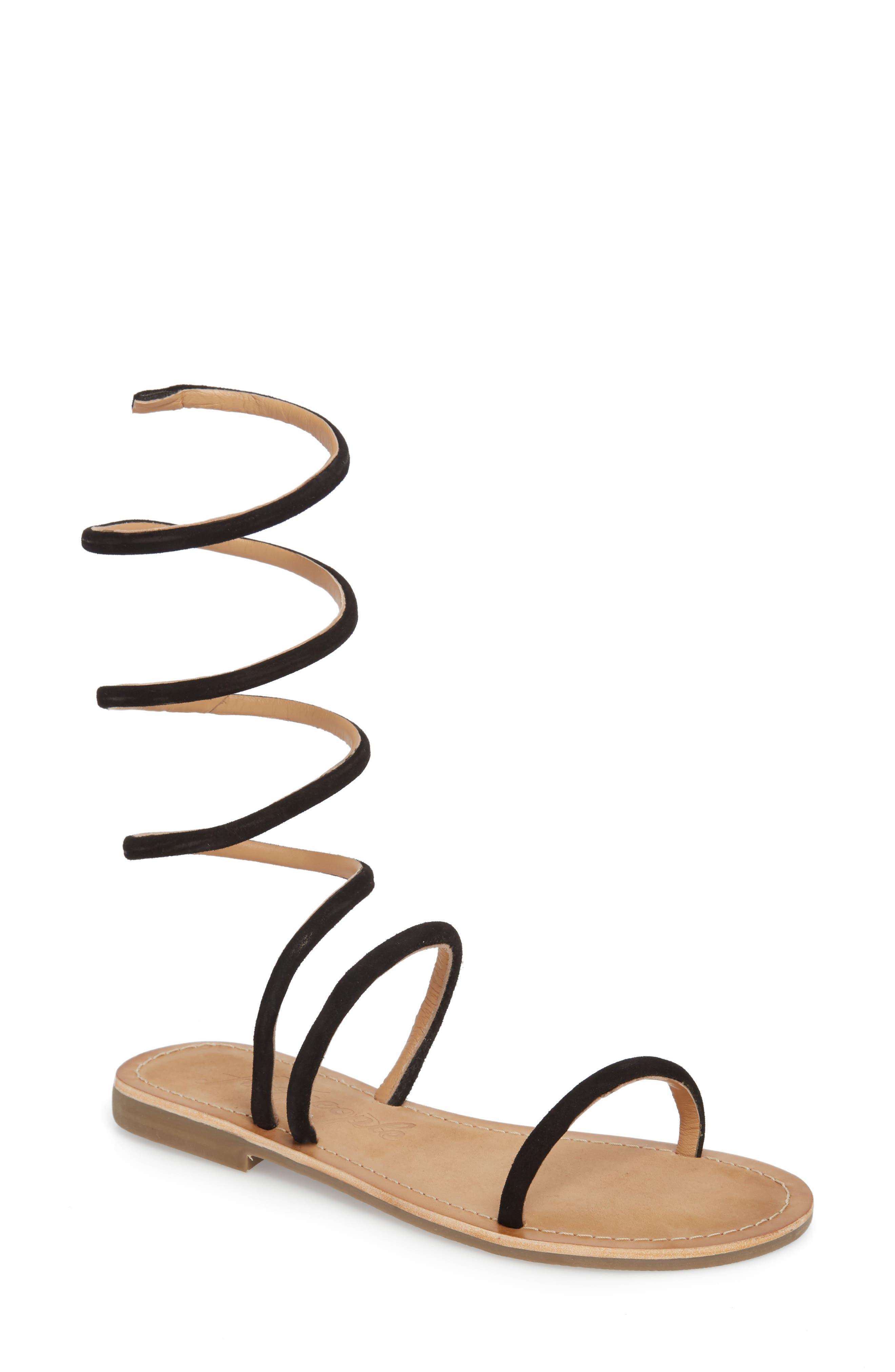 Havana Wraparound Gladiator Sandal,                         Main,                         color, 001