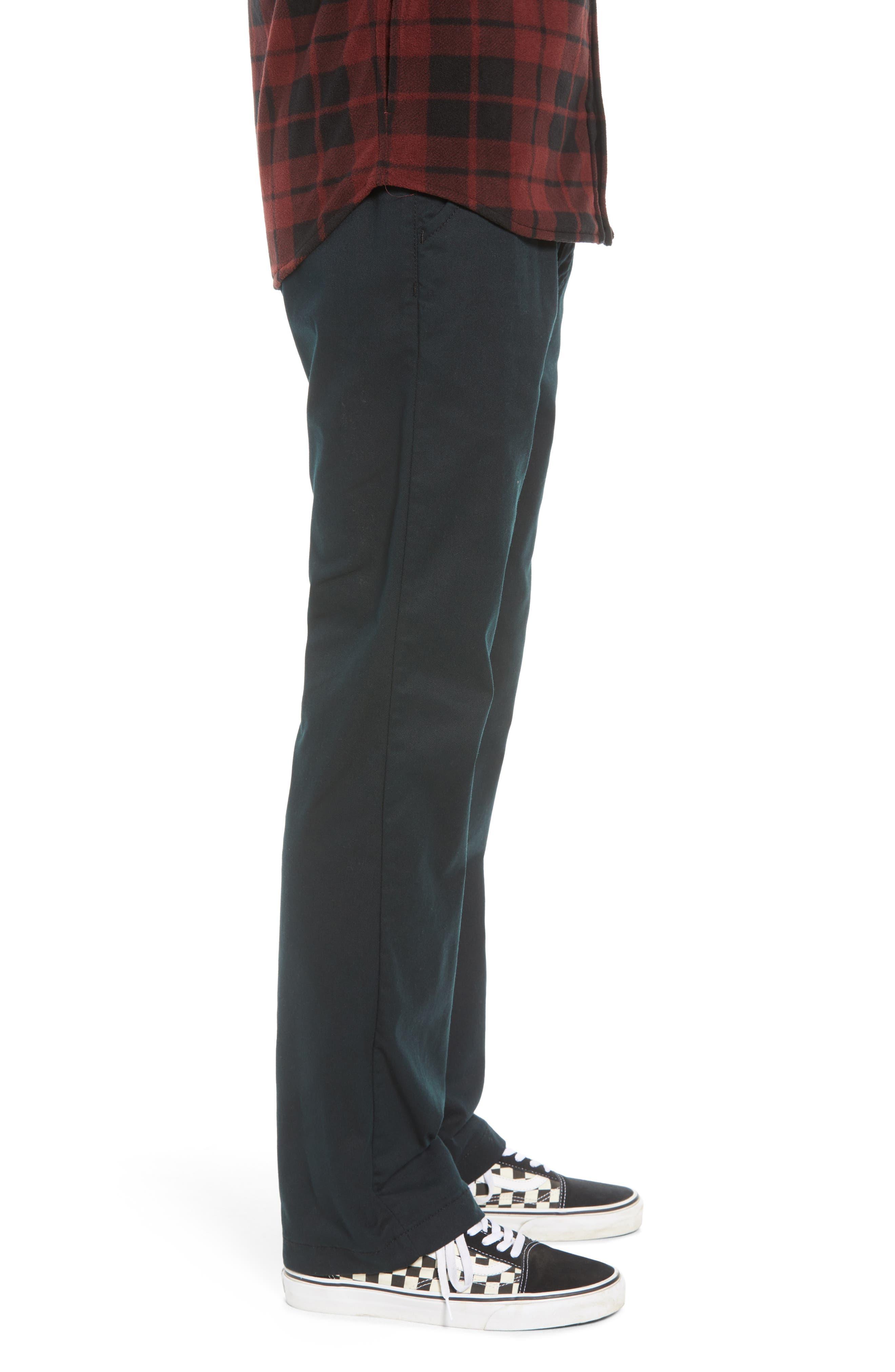 Authentic Chino Pro Pants,                             Alternate thumbnail 3, color,                             BLACK