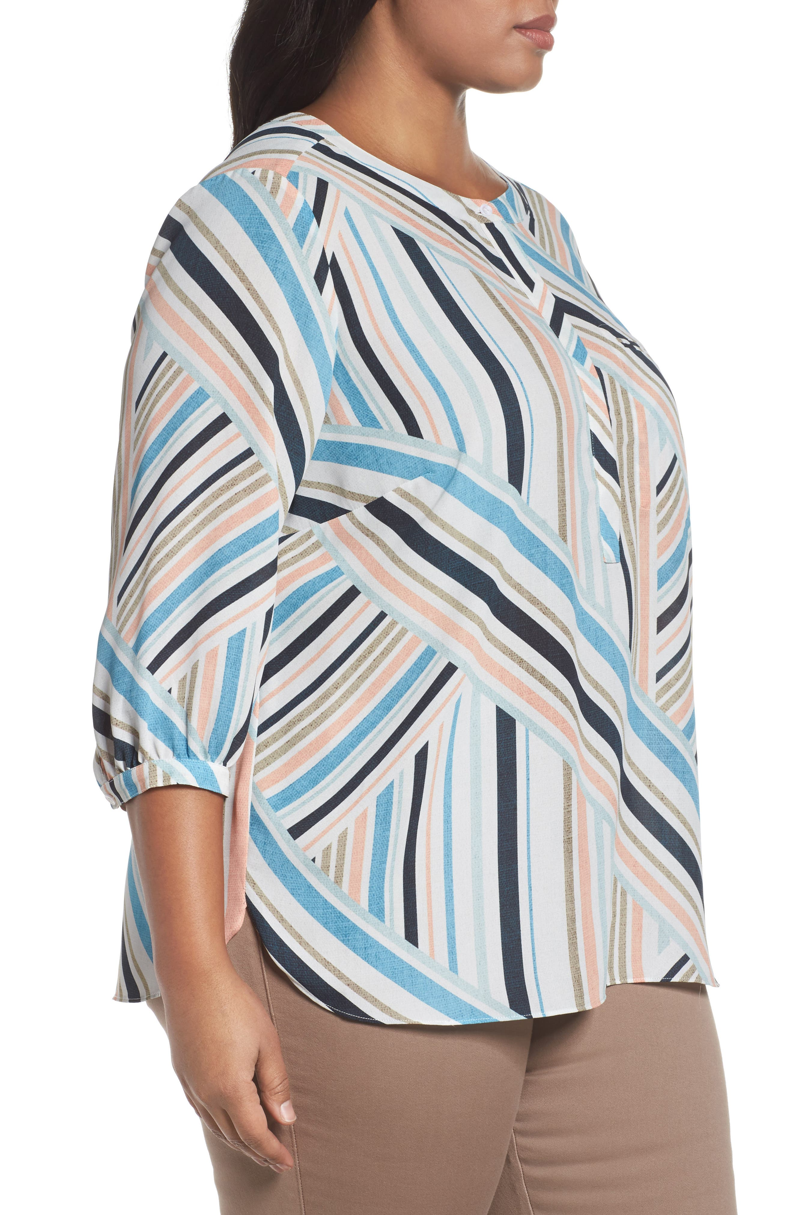Henley Top,                             Alternate thumbnail 330, color,