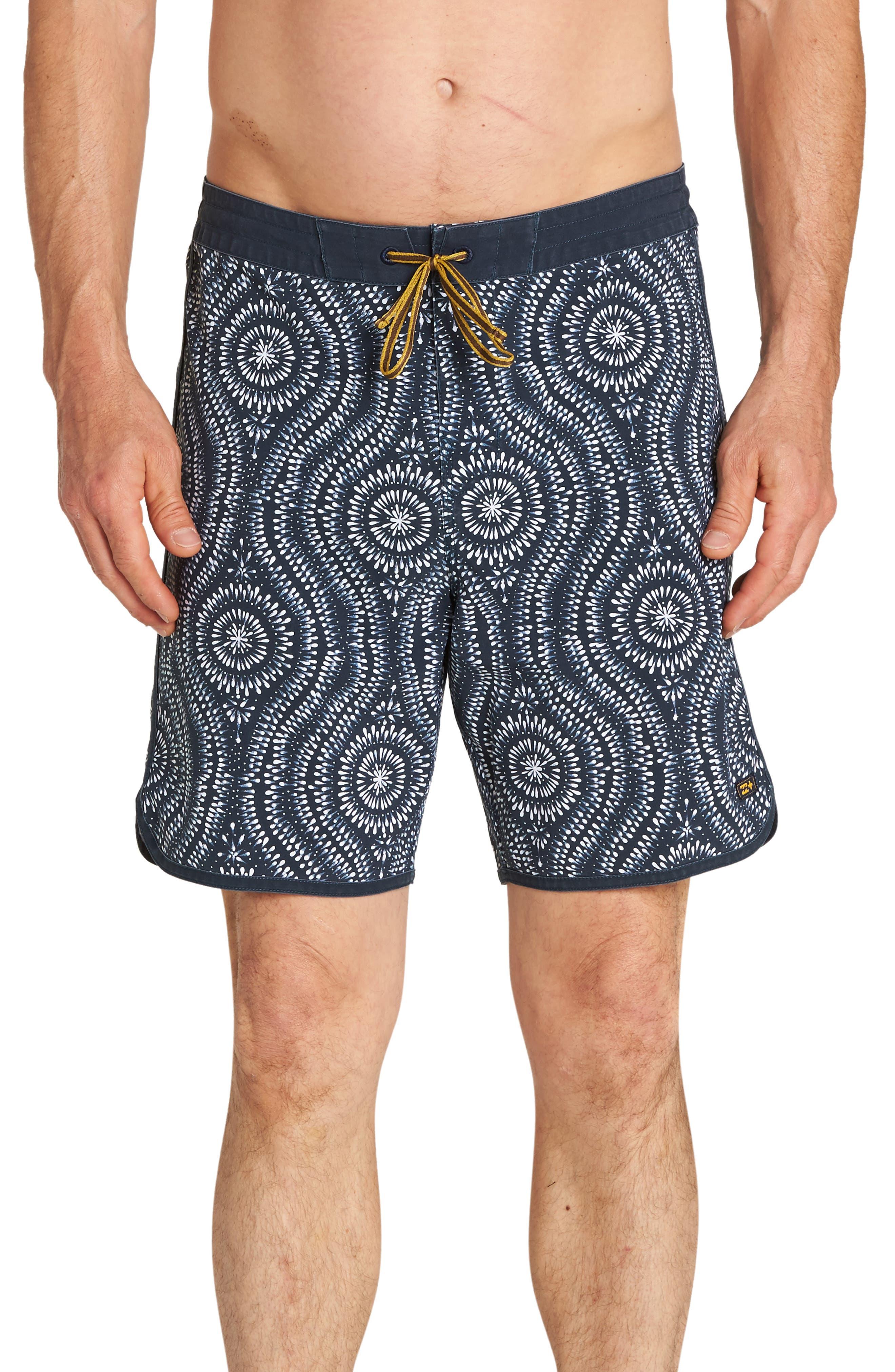 Barra Board Shorts,                         Main,                         color, INDIGO
