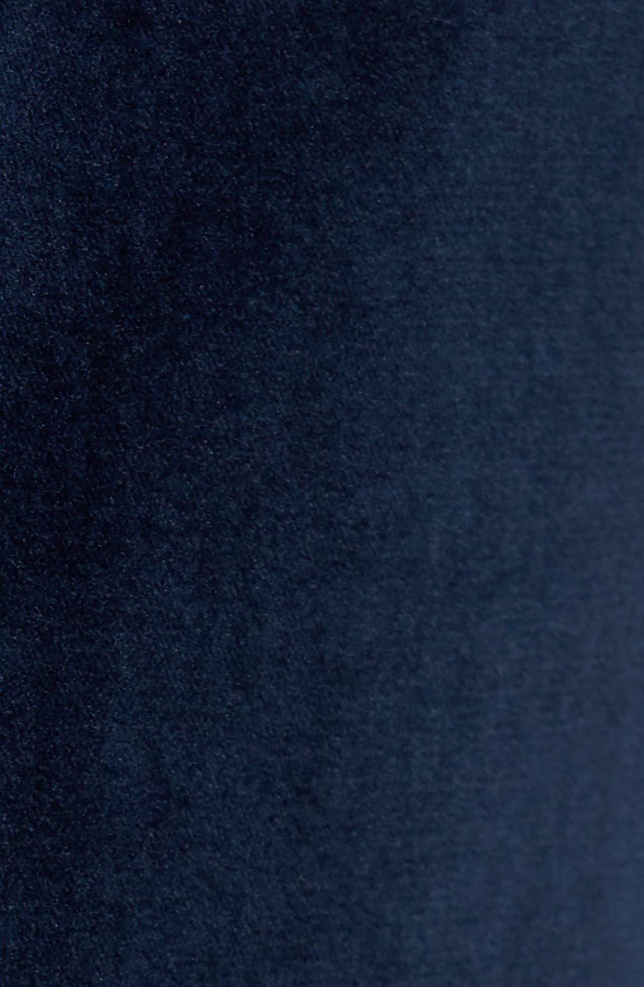 Classic B Fit Stretch Velvet Dinner Jacket,                             Alternate thumbnail 6, color,