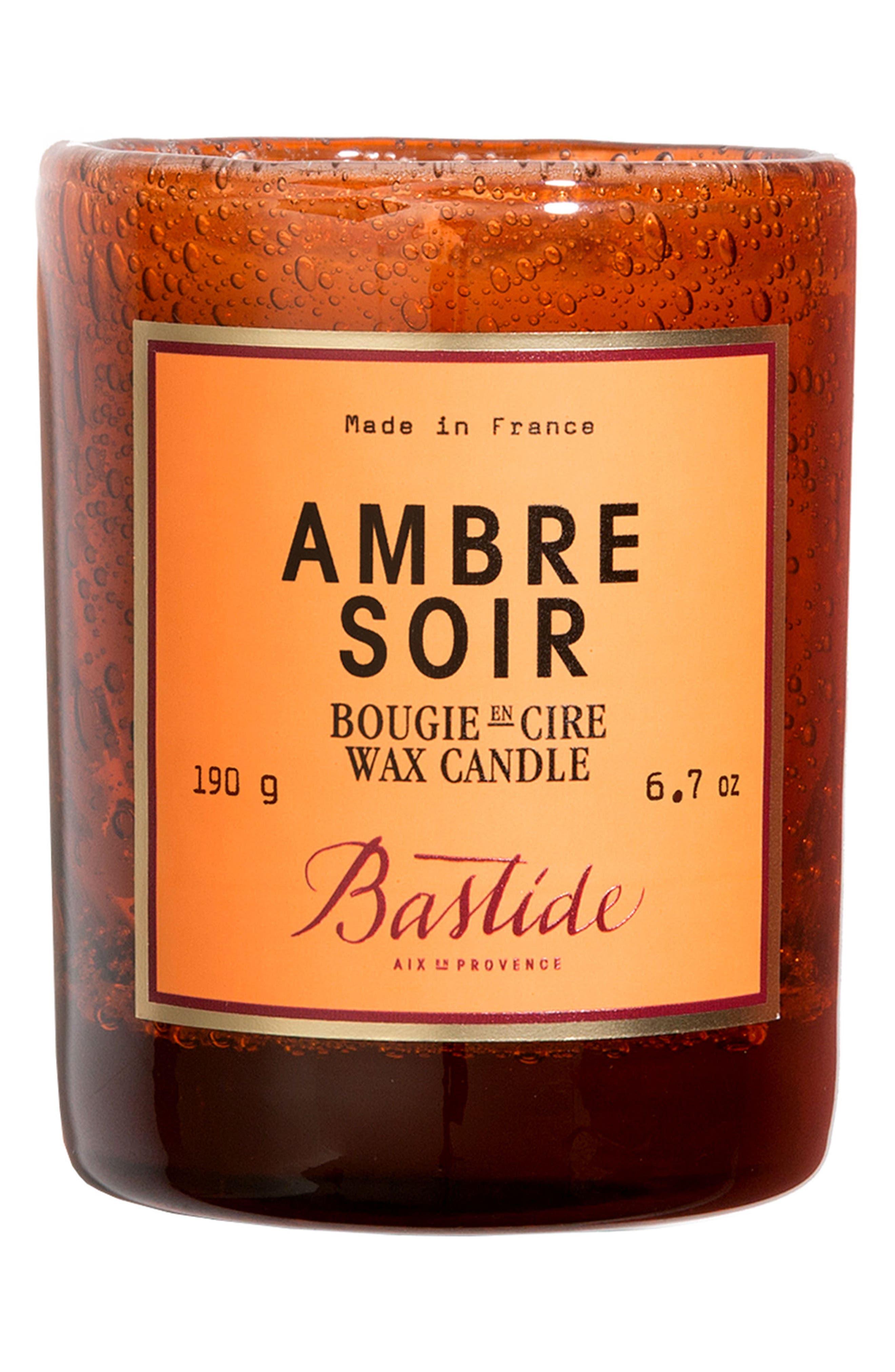 Candle,                         Main,                         color, AMBRE SOIR