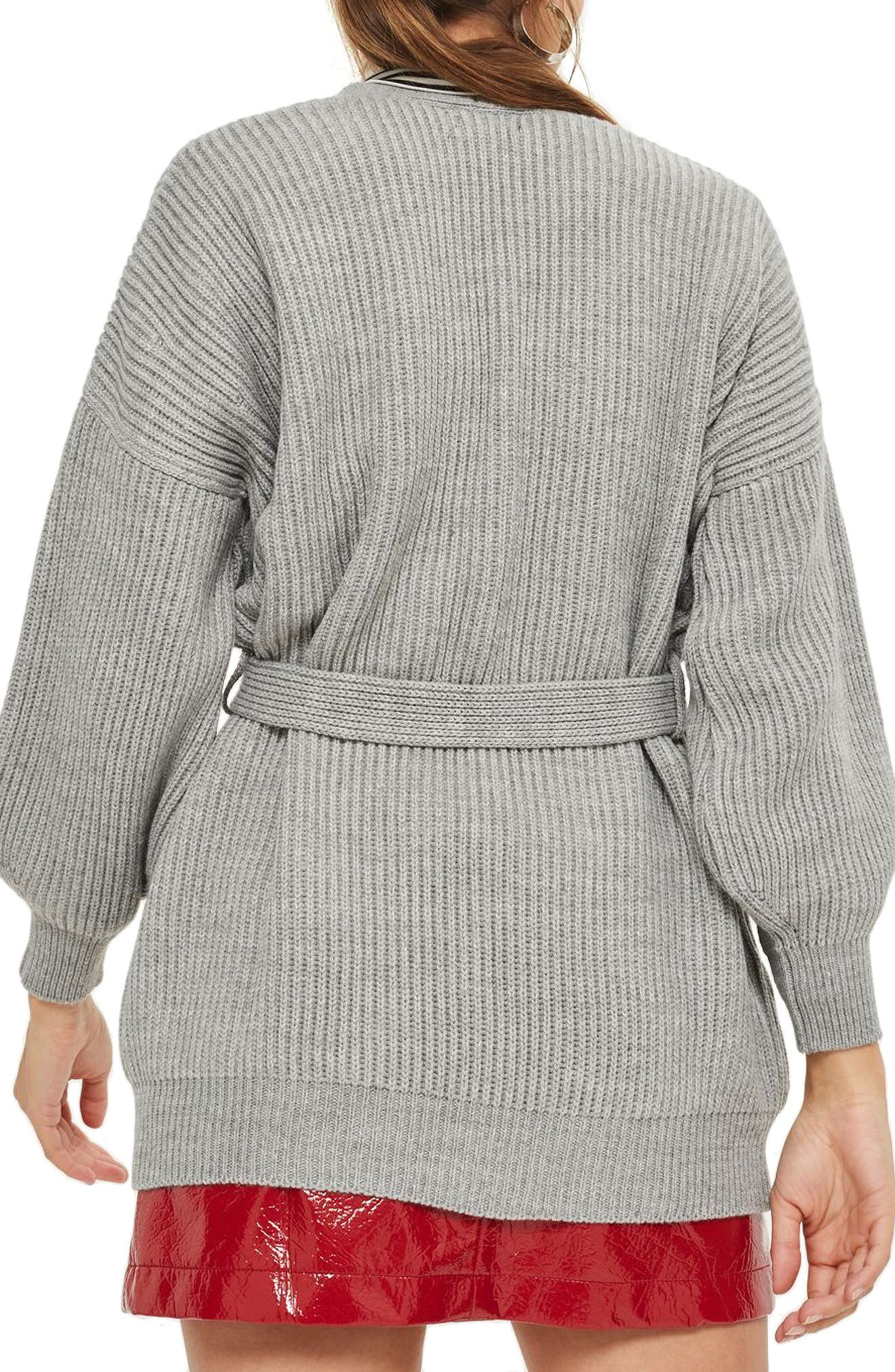 Belted Cardigan,                             Alternate thumbnail 2, color,                             020