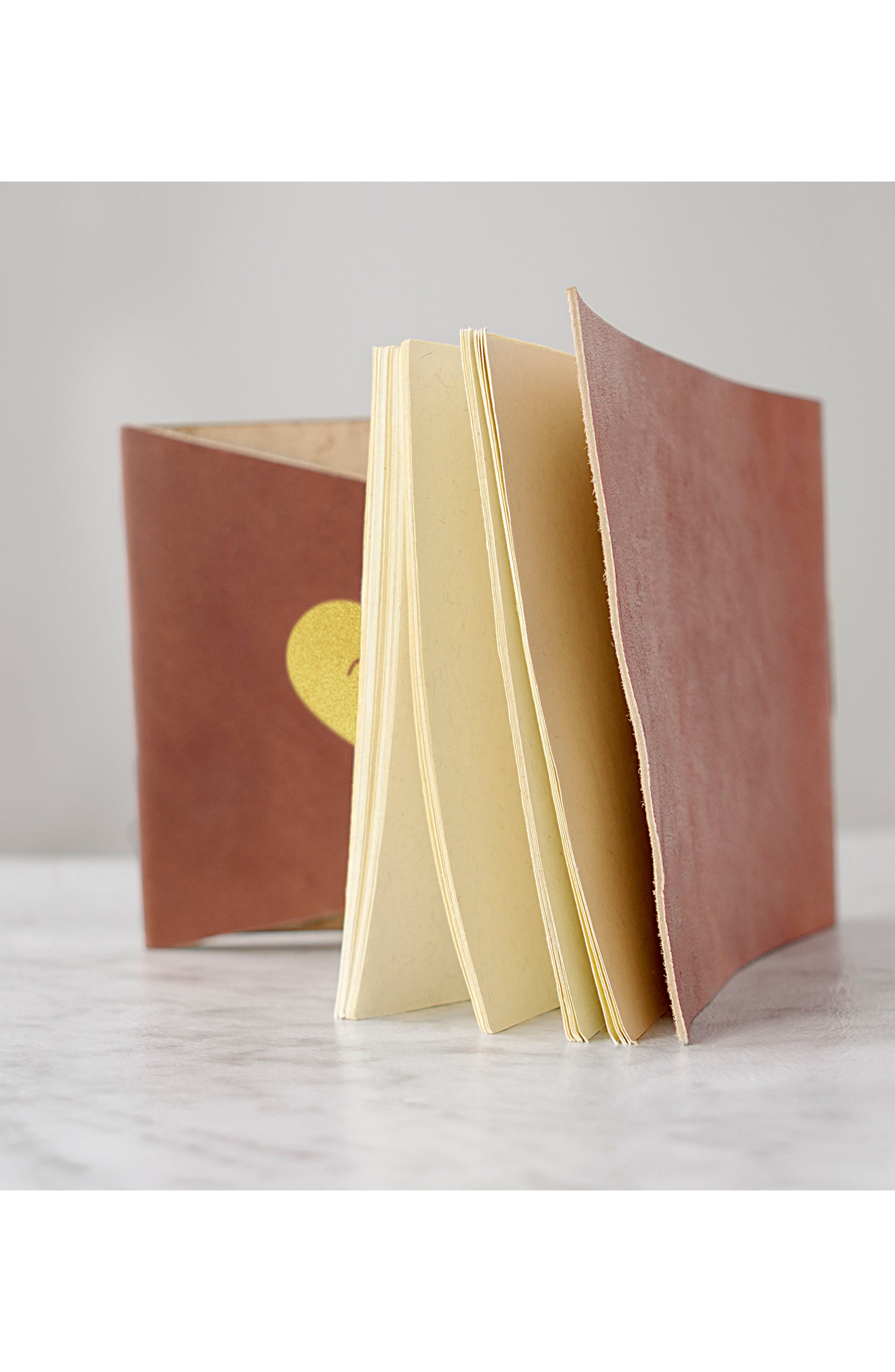 Monogram Leather Guest Book,                             Alternate thumbnail 10, color,                             710
