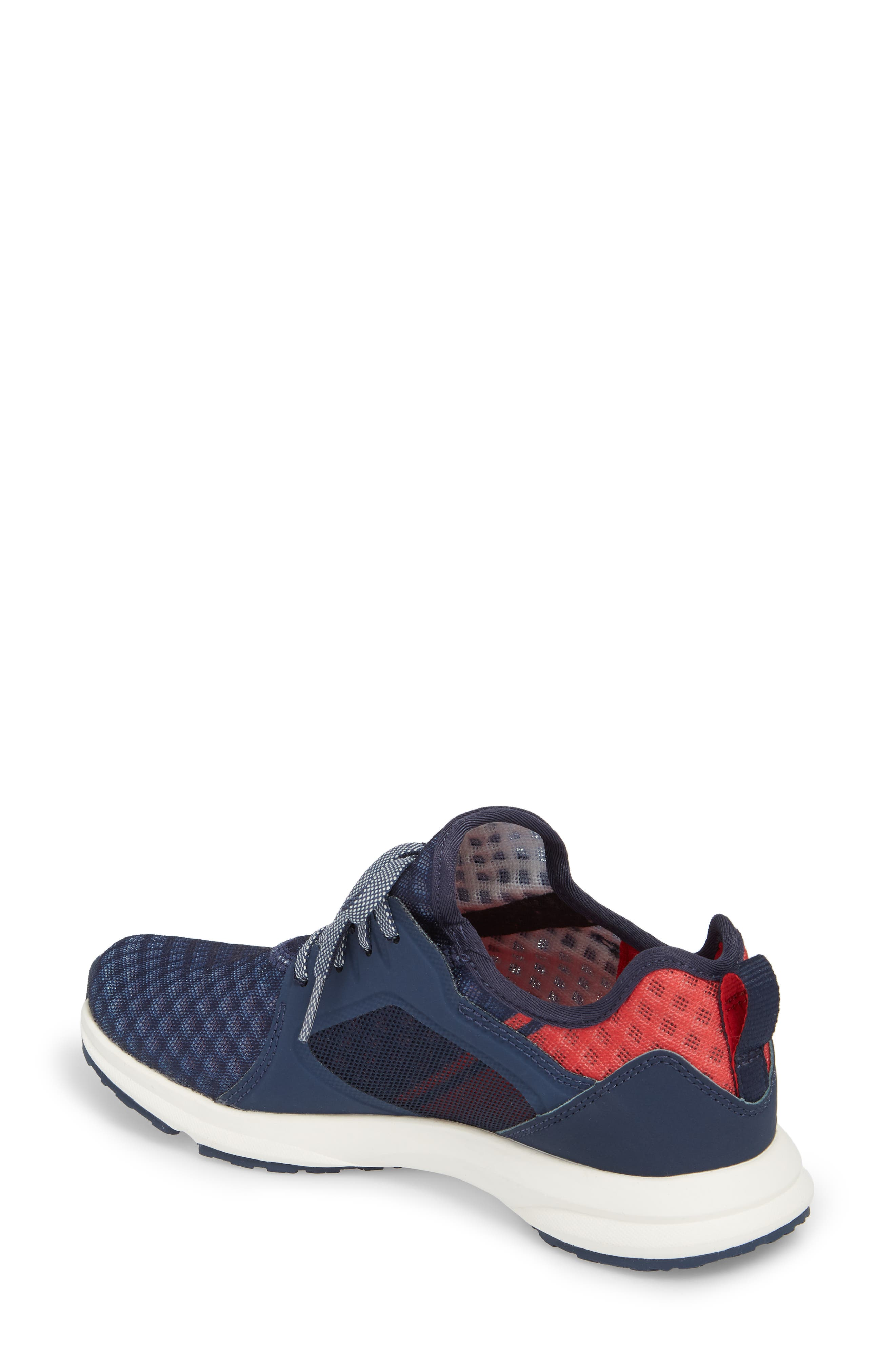 Fuse Print Sneaker,                             Alternate thumbnail 2, color,                             TEAM NAVY FABRIC