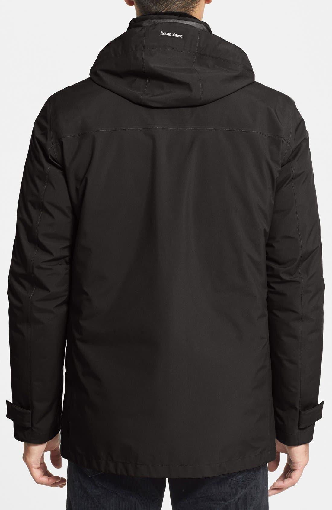 HERNO,                             'Laminar' Waterproof Gore-Tex<sup>®</sup> 3-in-1 Jacket,                             Alternate thumbnail 2, color,                             001