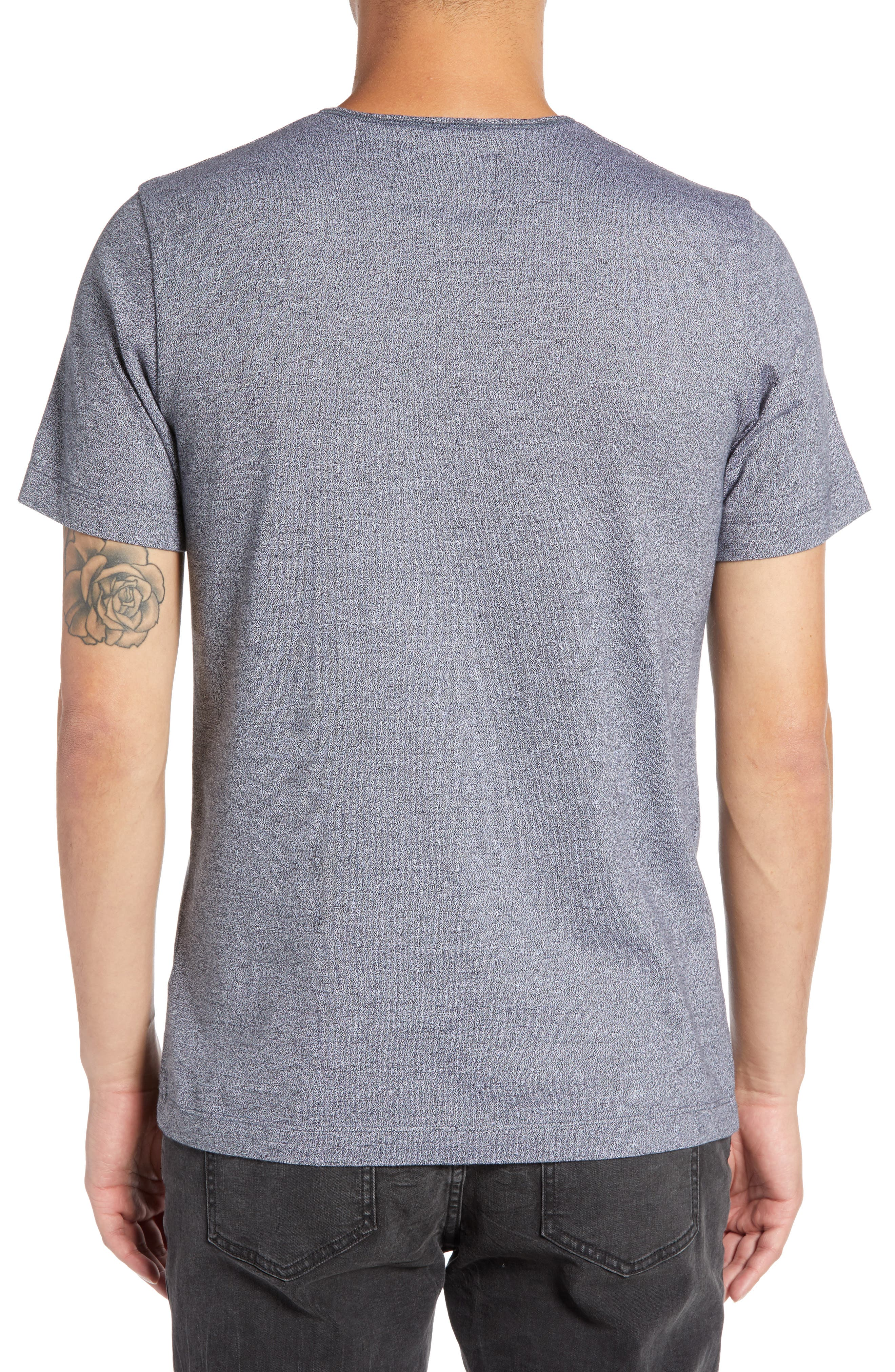 WINGS + HORNS,                             Marled Henley T-Shirt,                             Alternate thumbnail 2, color,                             014