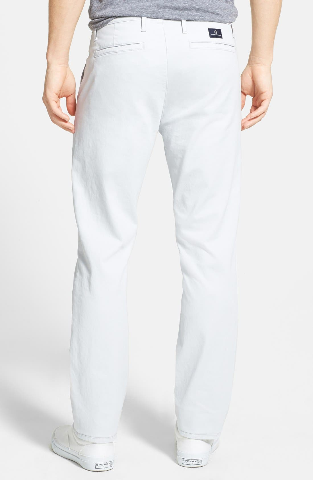 'The Lux' Tailored Straight Leg Chinos,                             Alternate thumbnail 18, color,