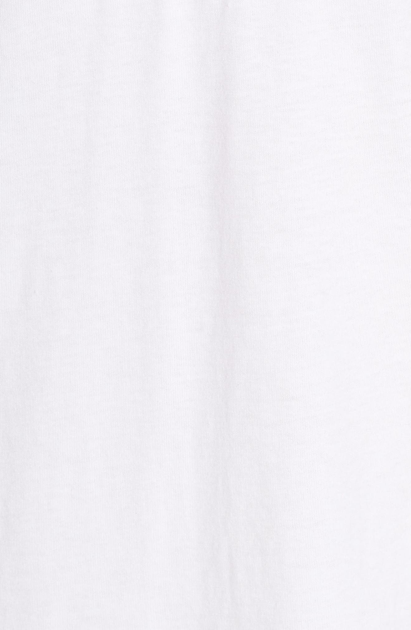 CLRDO T-Shirt Dress,                             Alternate thumbnail 6, color,                             100