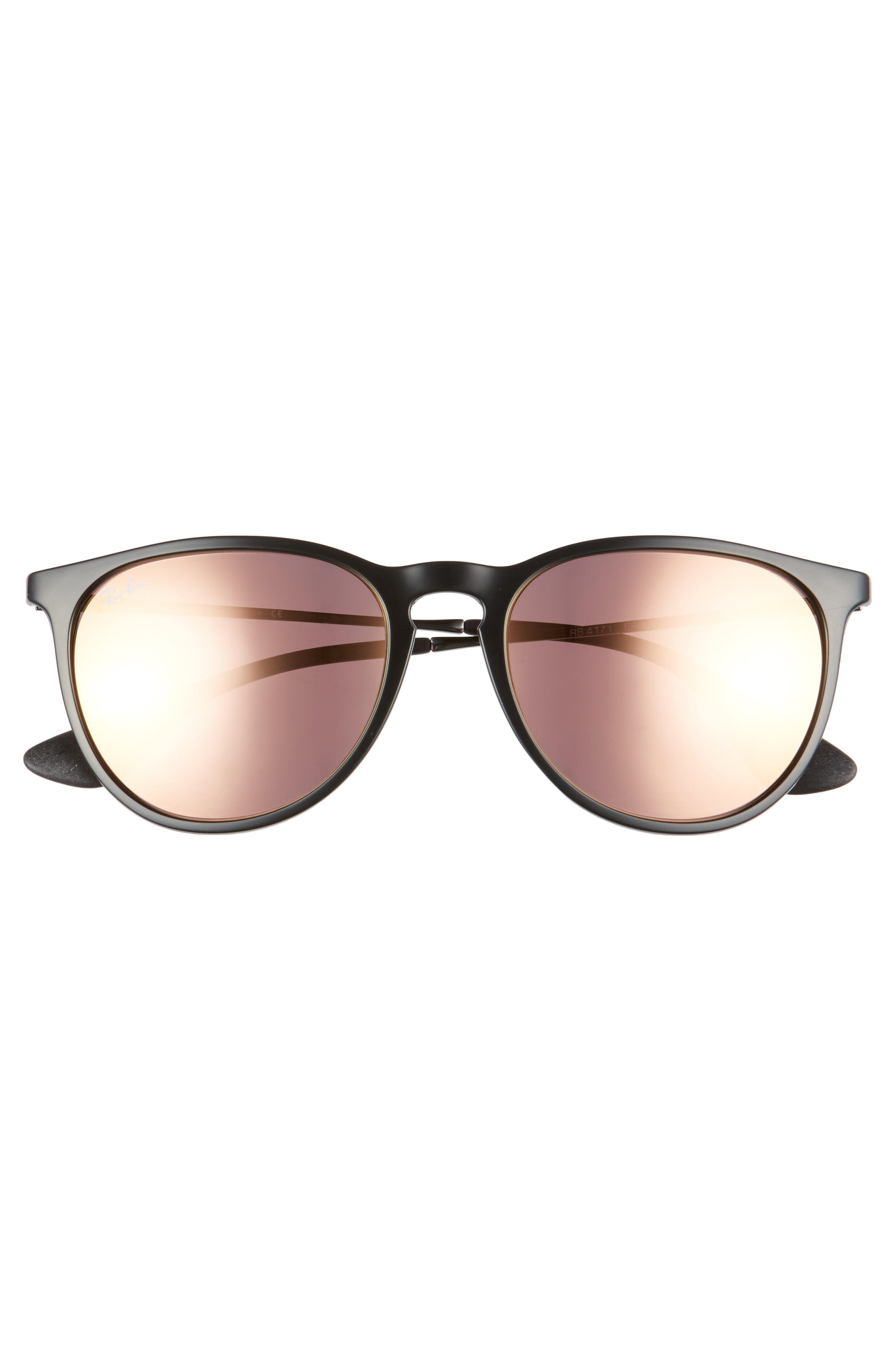 Erika 54mm Mirrored Sunglasses,                             Alternate thumbnail 6, color,