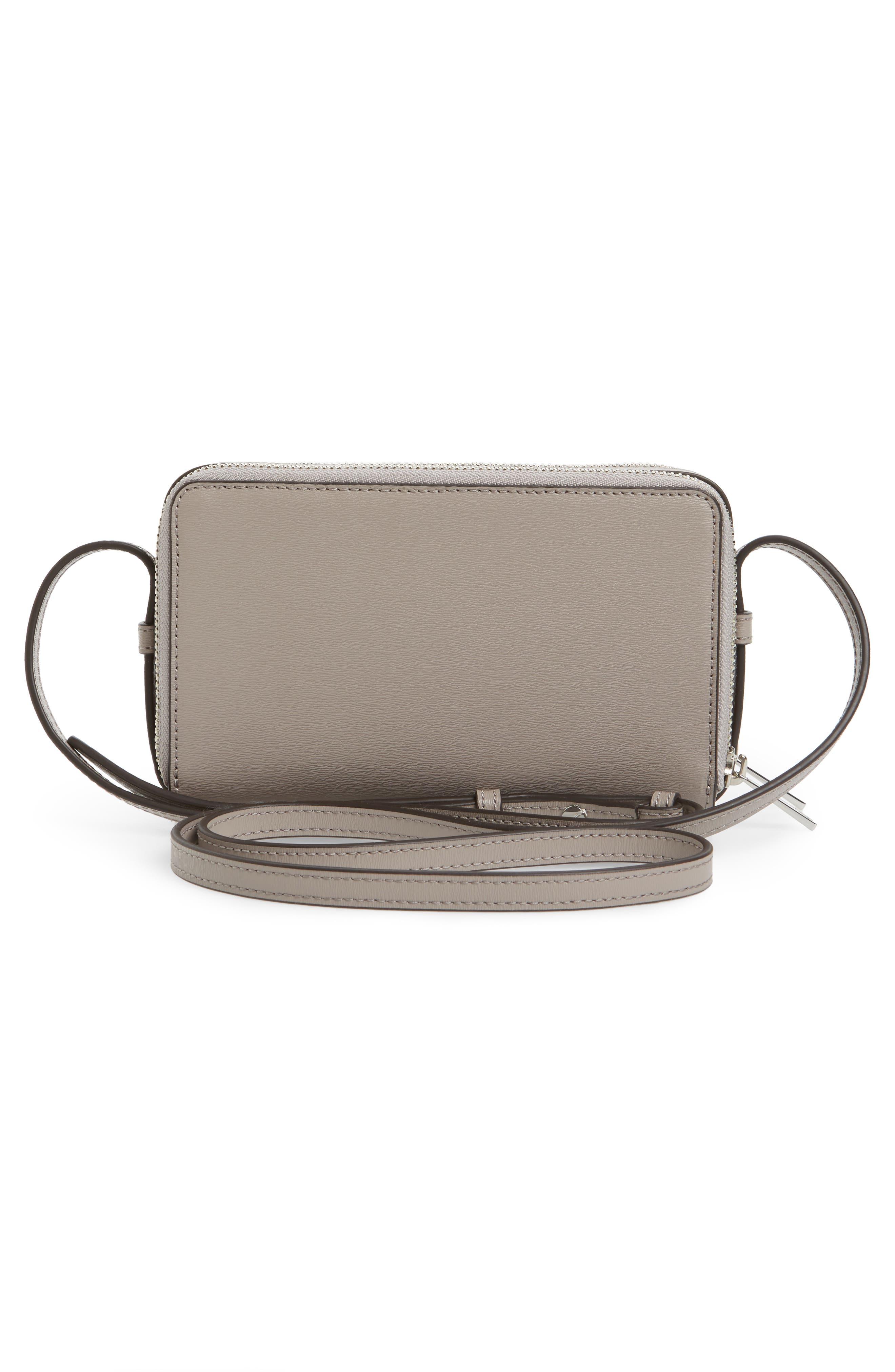 Mini Parker Leather Crossbody Bag,                             Alternate thumbnail 8, color,