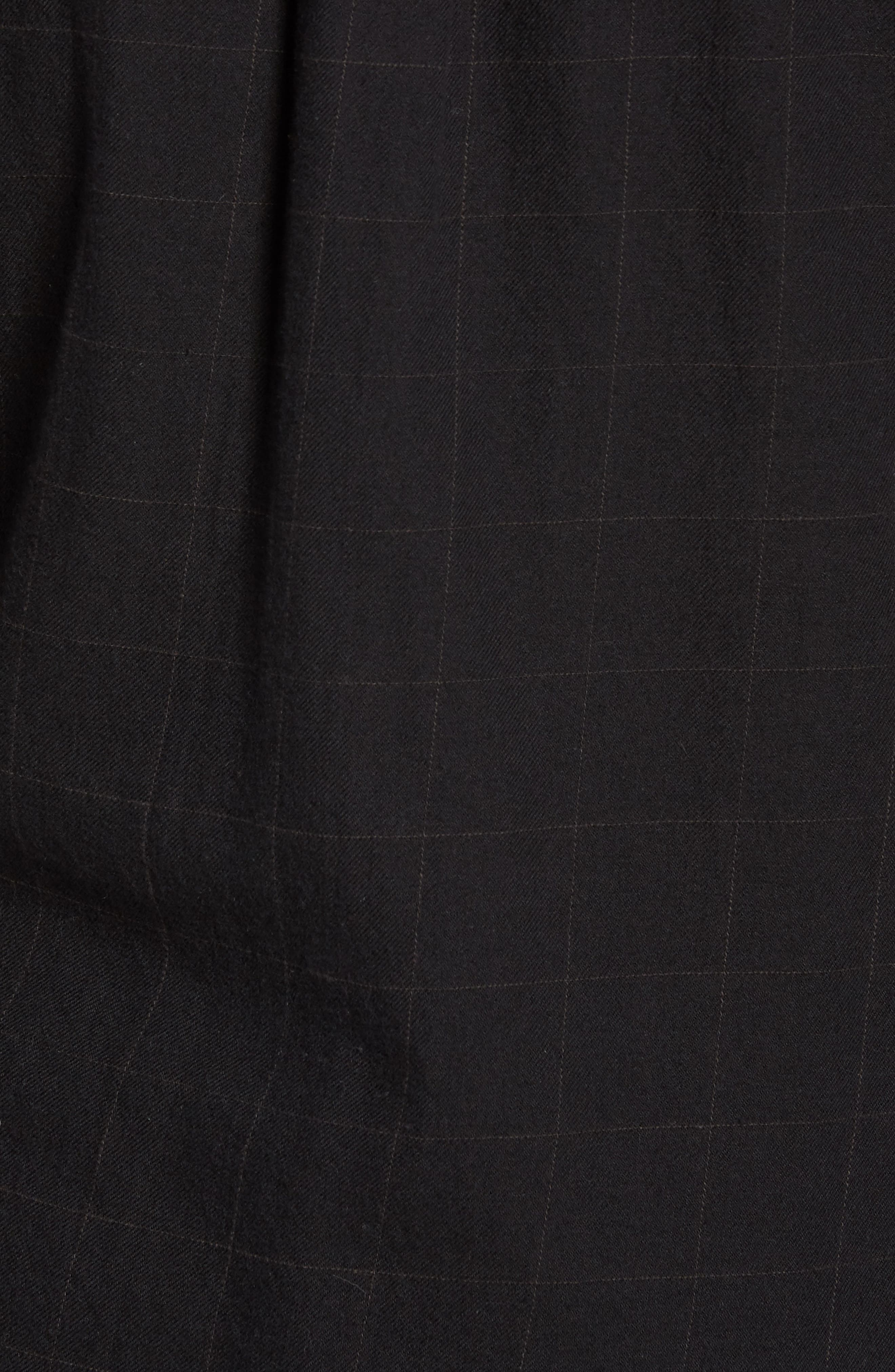 Tuman Windowpane Sport Shirt,                             Alternate thumbnail 5, color,                             001