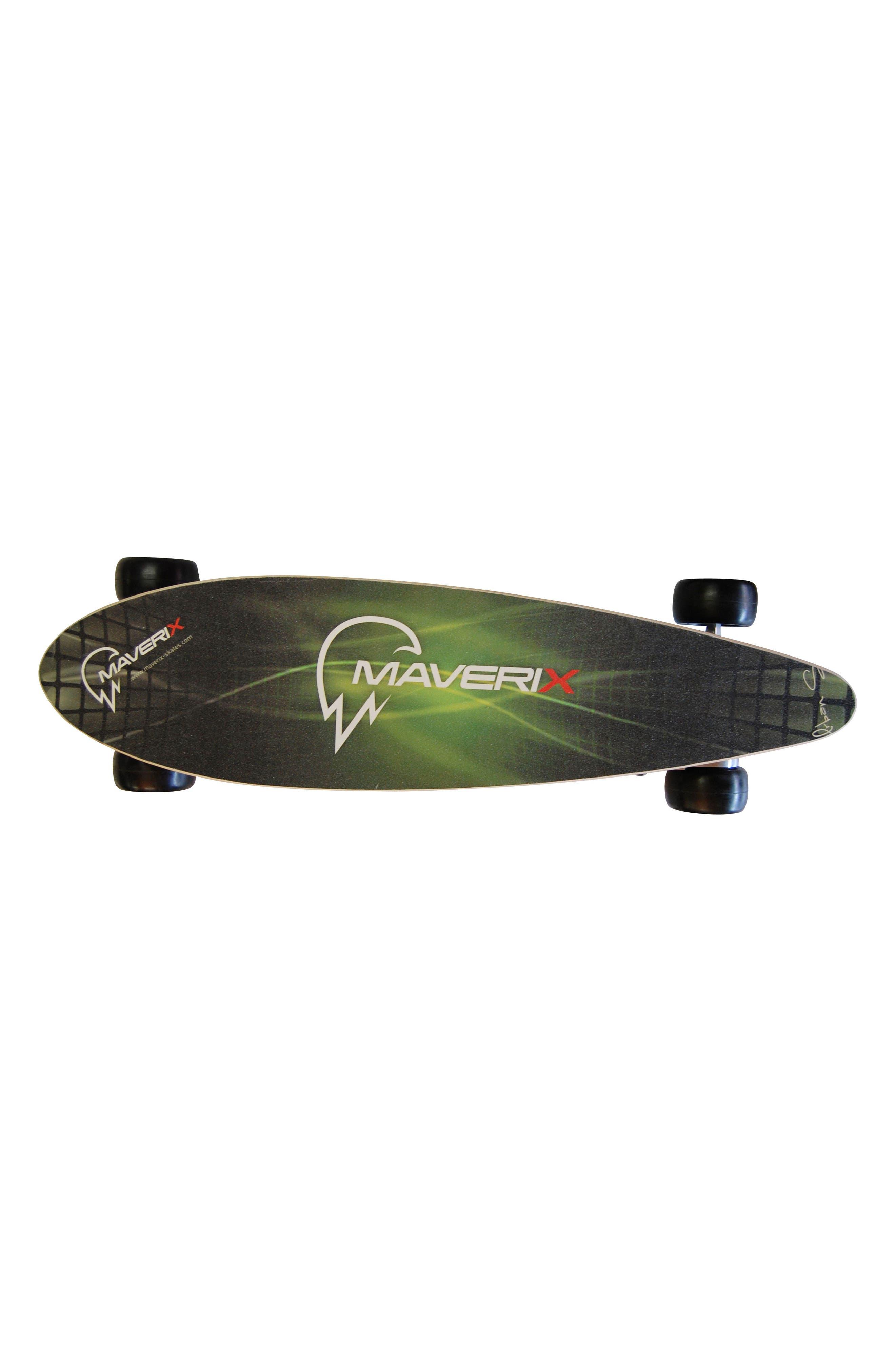 Urban Spirit 400-Watt Electric Skateboard,                             Alternate thumbnail 4, color,                             GREEN