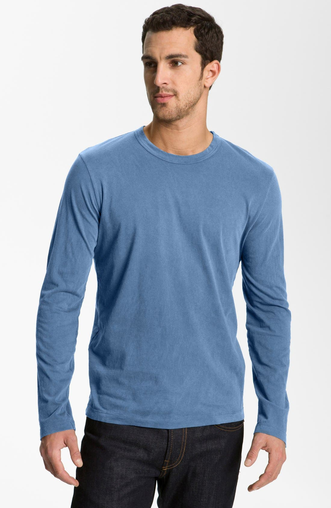 Long Sleeve Crewneck T-Shirt,                             Main thumbnail 26, color,