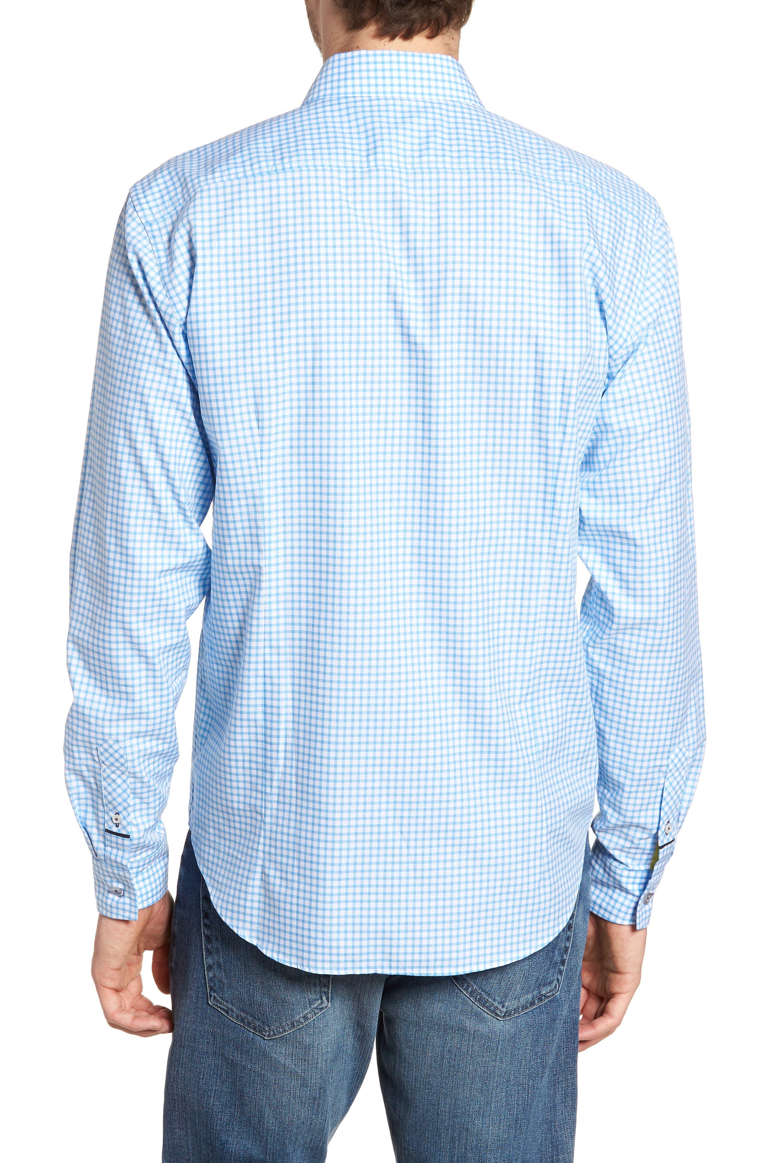 Slim Fit Check Sport Shirt,                             Alternate thumbnail 2, color,                             451