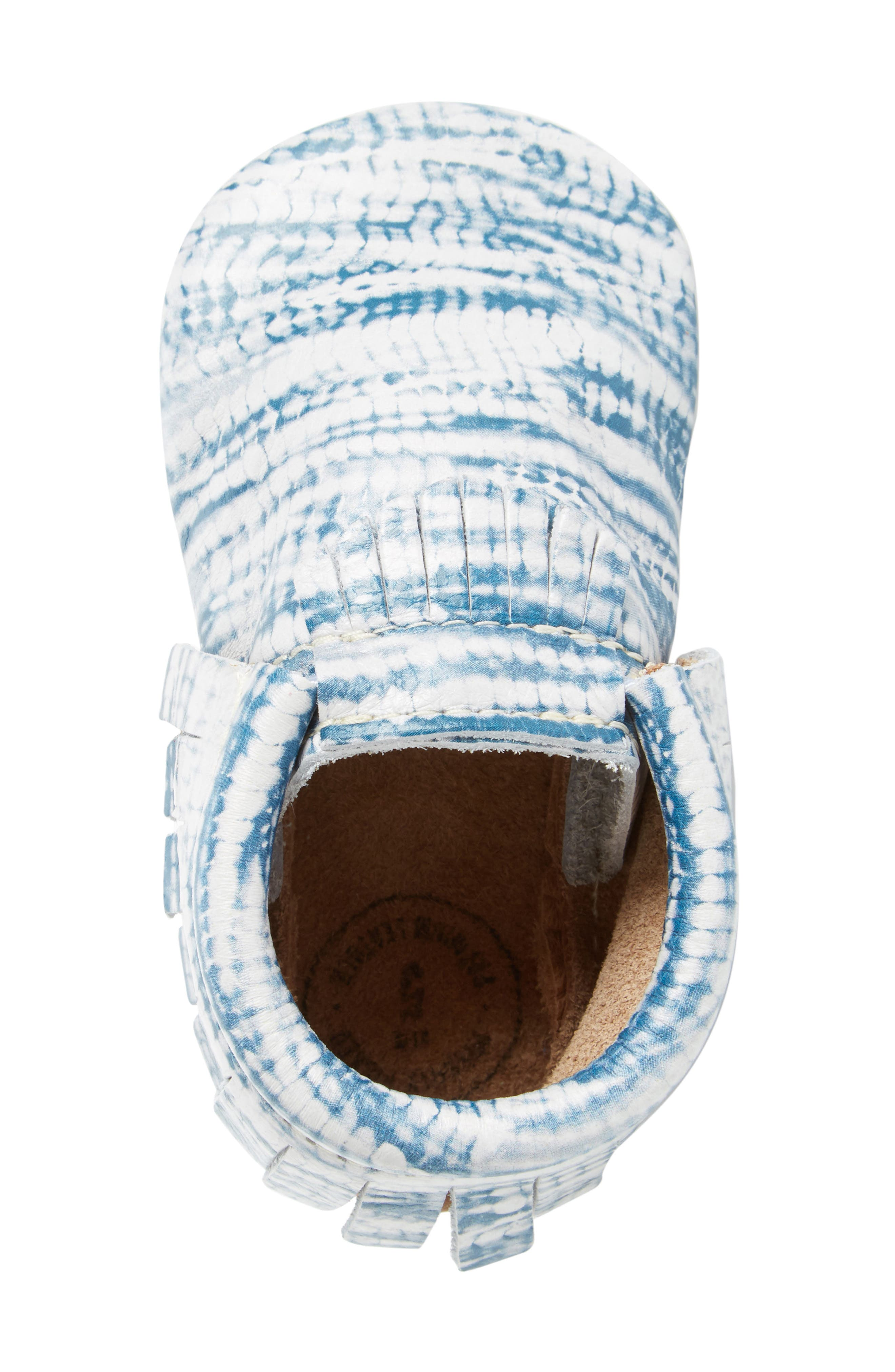 Tie Dye Moccasin,                             Alternate thumbnail 5, color,                             402