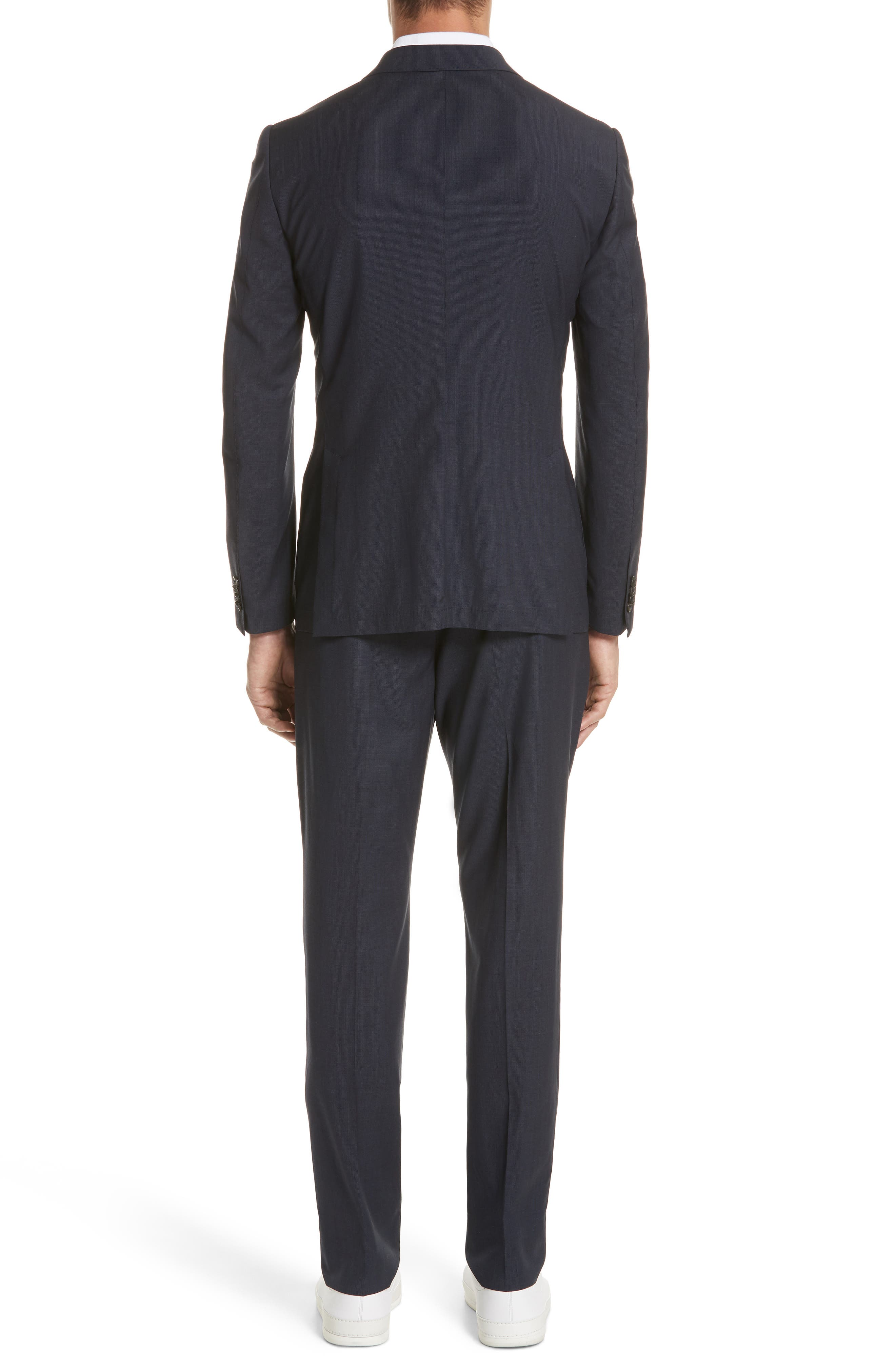 TECHMERINO<sup>™</sup> Wash & Go Trim Fit Solid Wool Suit,                             Alternate thumbnail 2, color,                             412