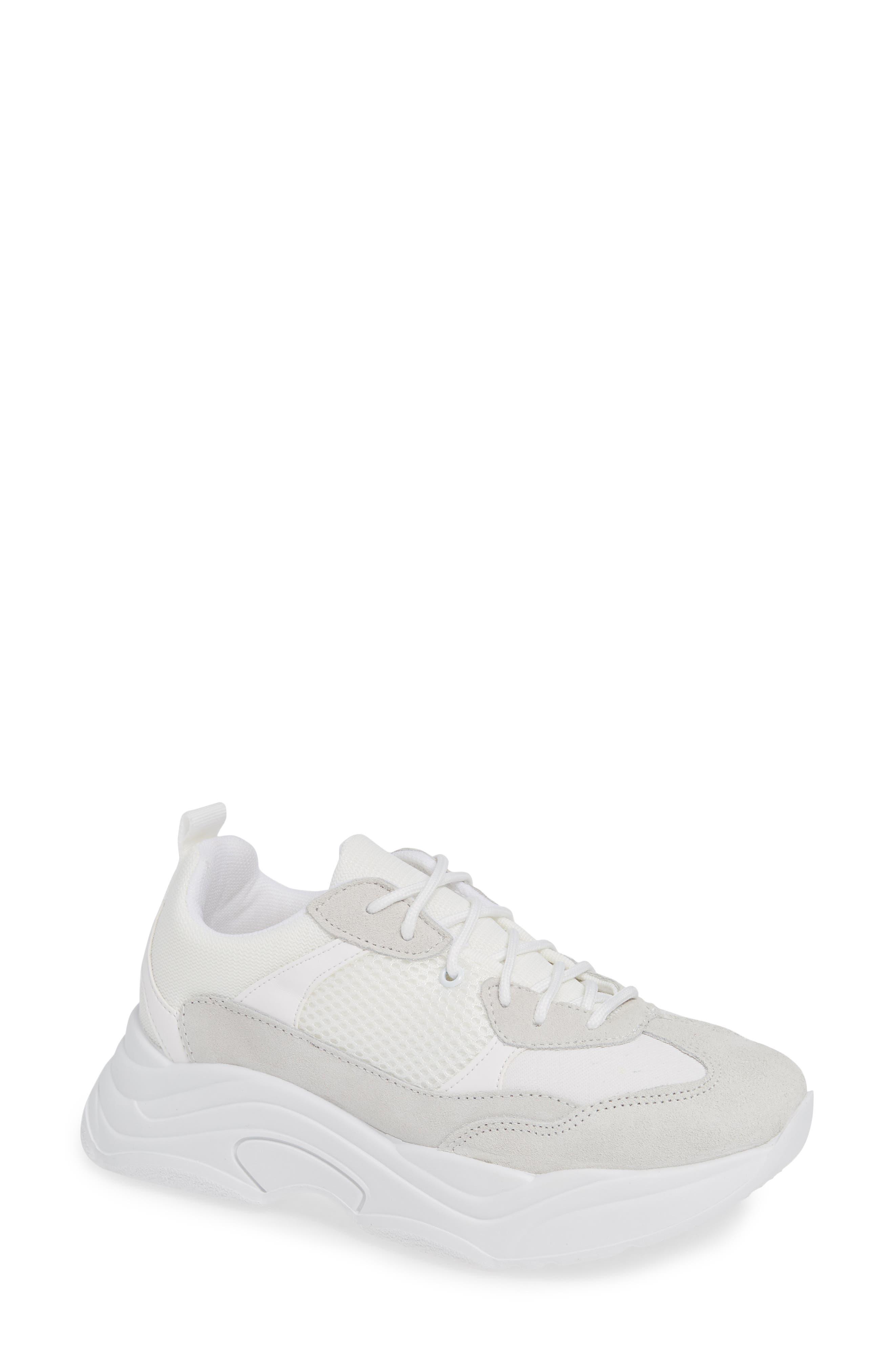 Ciara Chunky Sneaker,                             Main thumbnail 1, color,                             WHITE MULTI