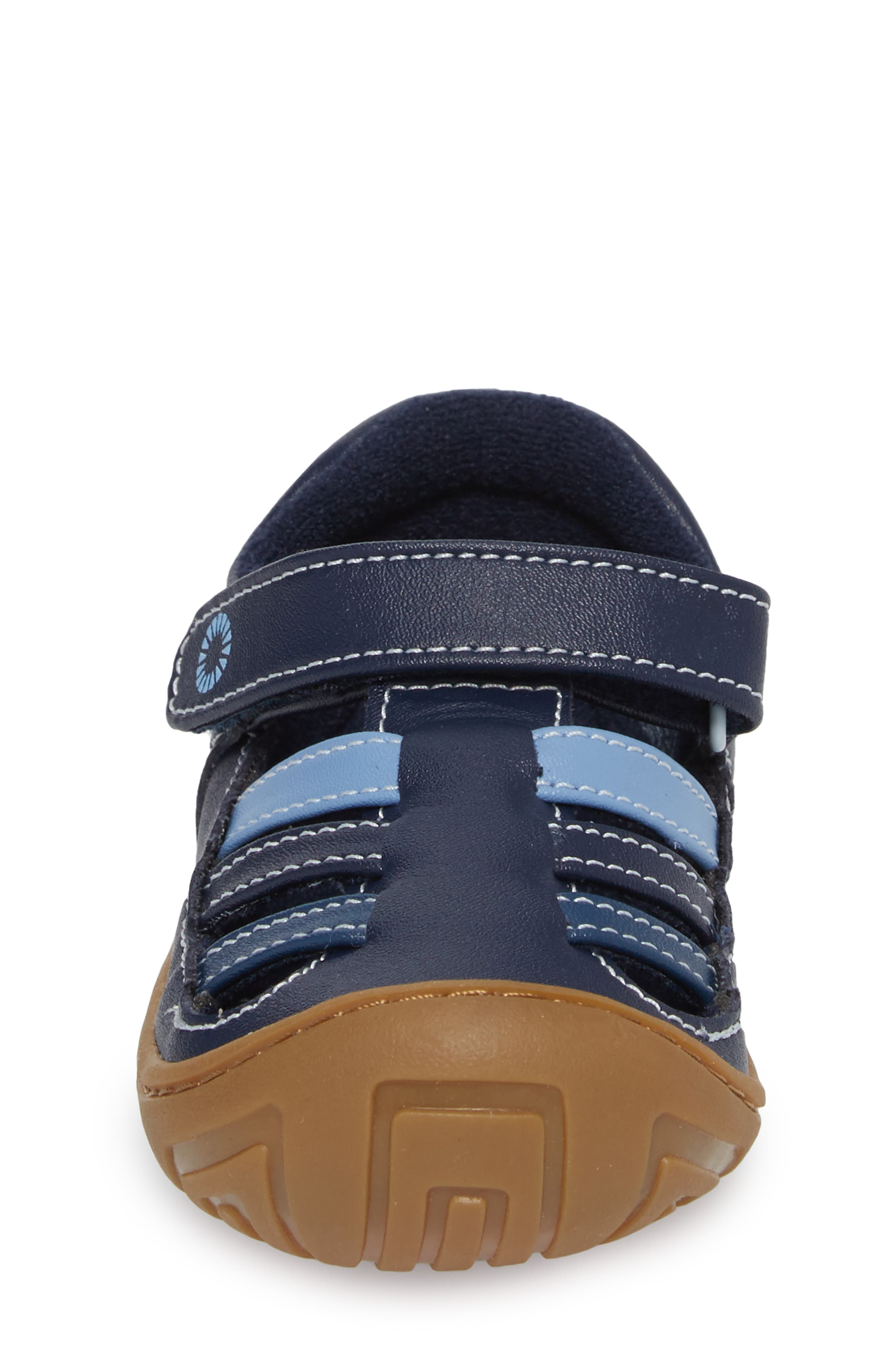 Santore Sandal,                             Alternate thumbnail 4, color,                             NAVY