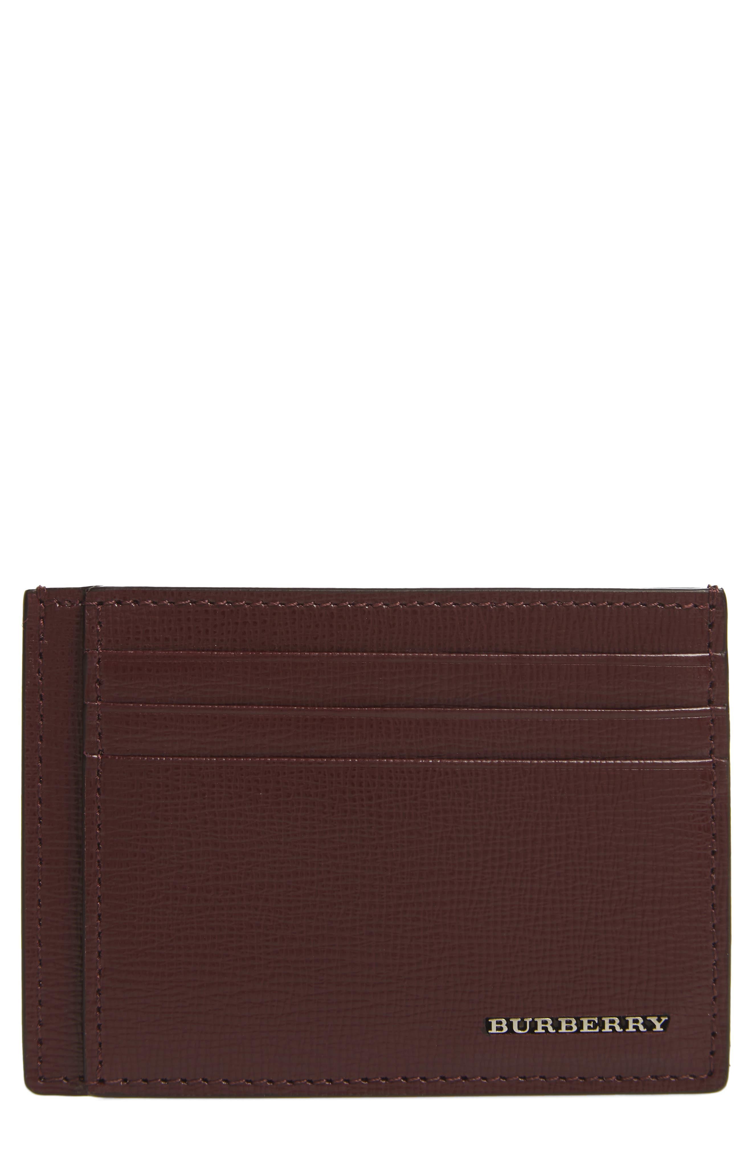 Bernie Check Card Case,                             Main thumbnail 1, color,                             935