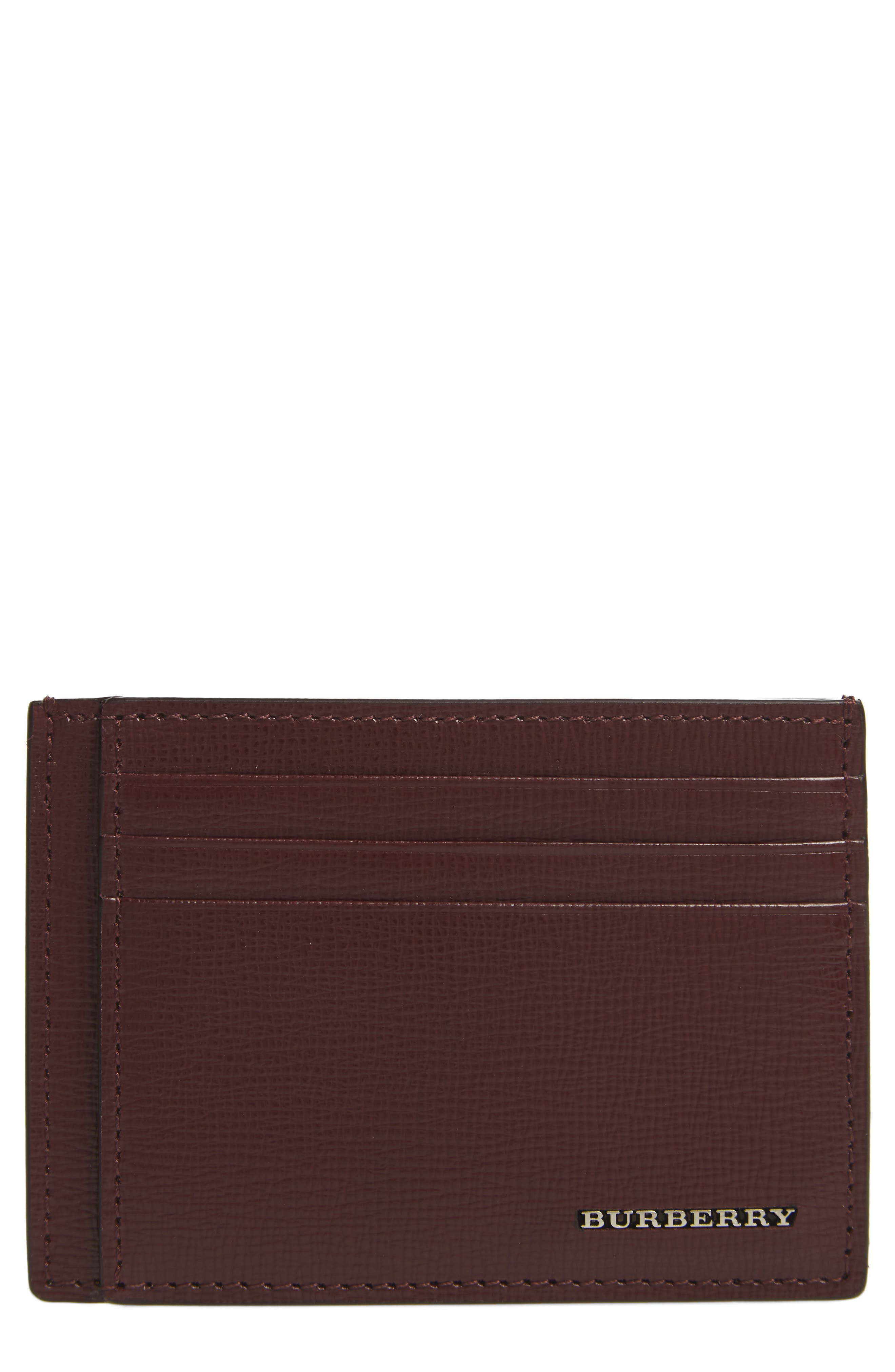 Bernie Check Card Case,                         Main,                         color, 935