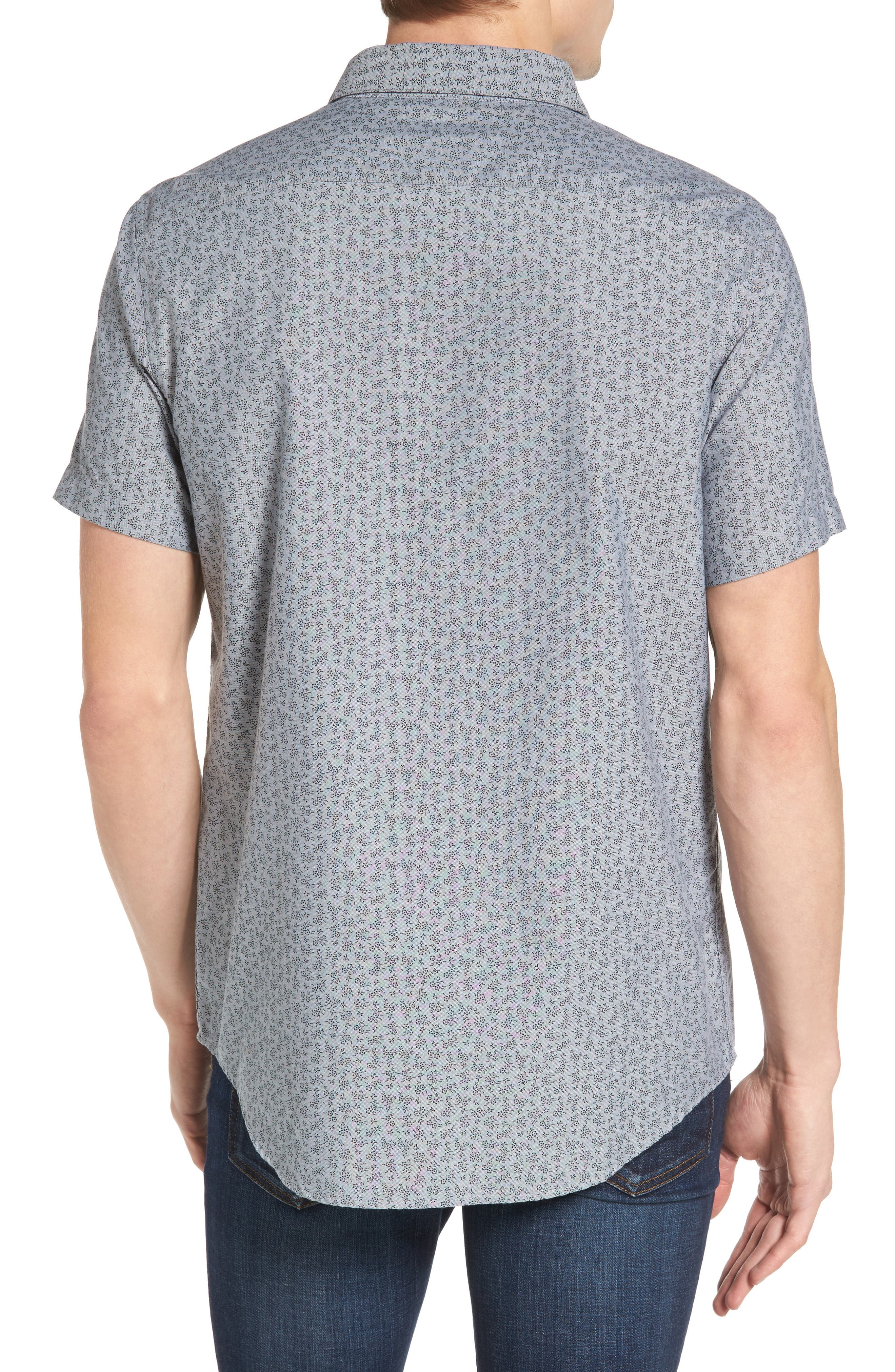 That'll Do Floral Woven Shirt,                             Alternate thumbnail 6, color,