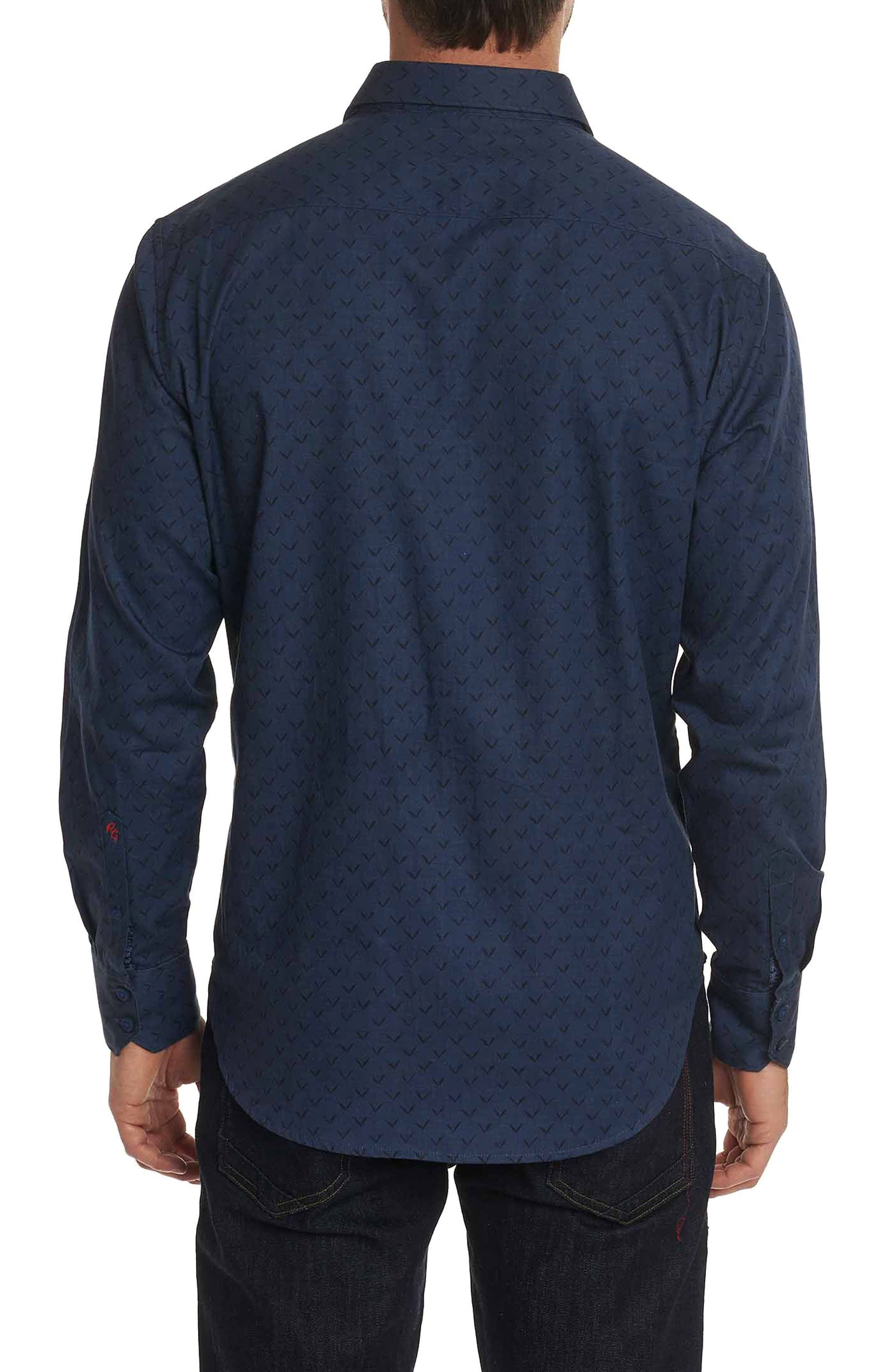 Lionel Classic Fit Sport Shirt,                             Alternate thumbnail 2, color,                             INDIGO