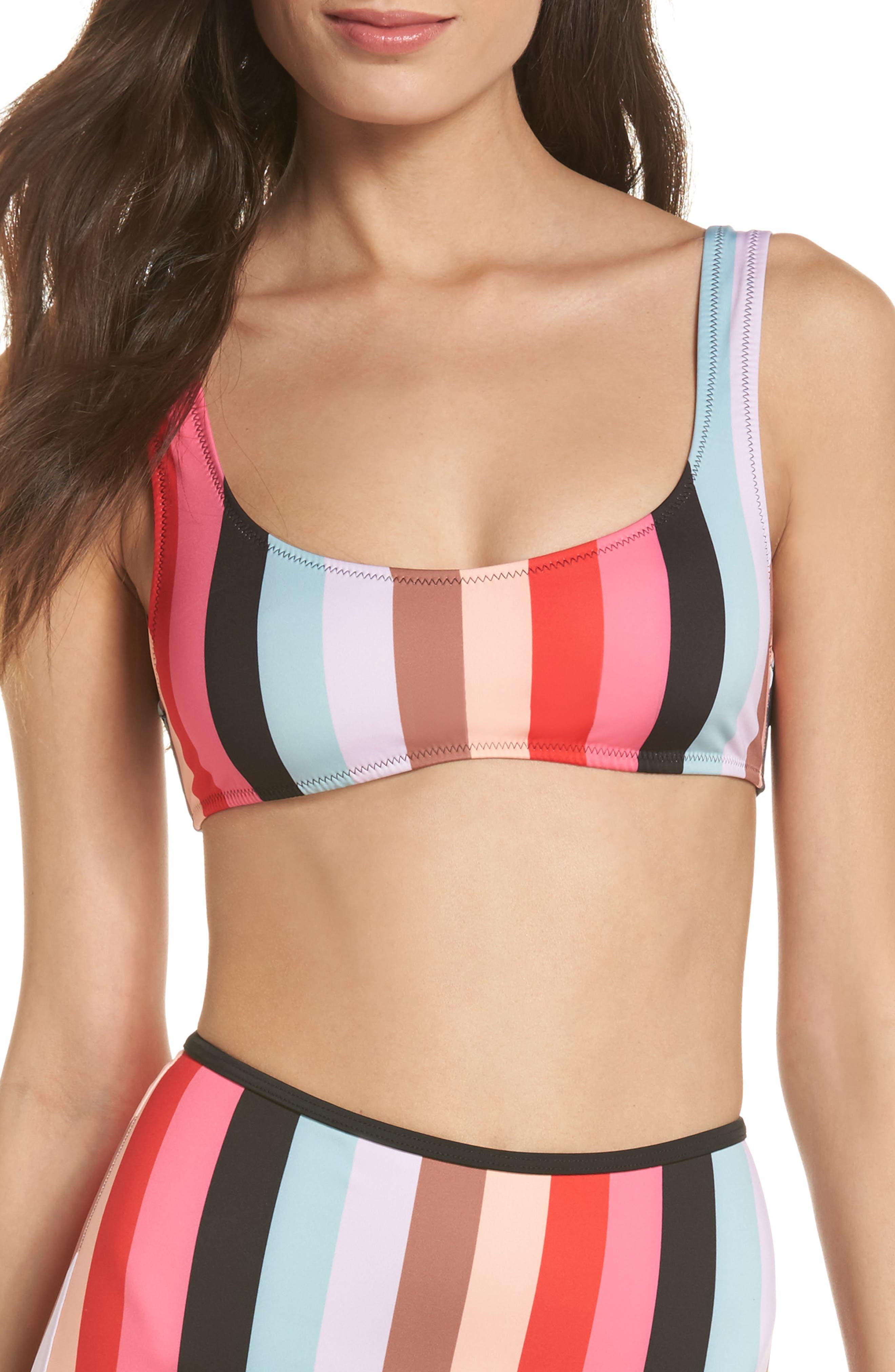 The Elle Bikini Top,                             Main thumbnail 1, color,                             645