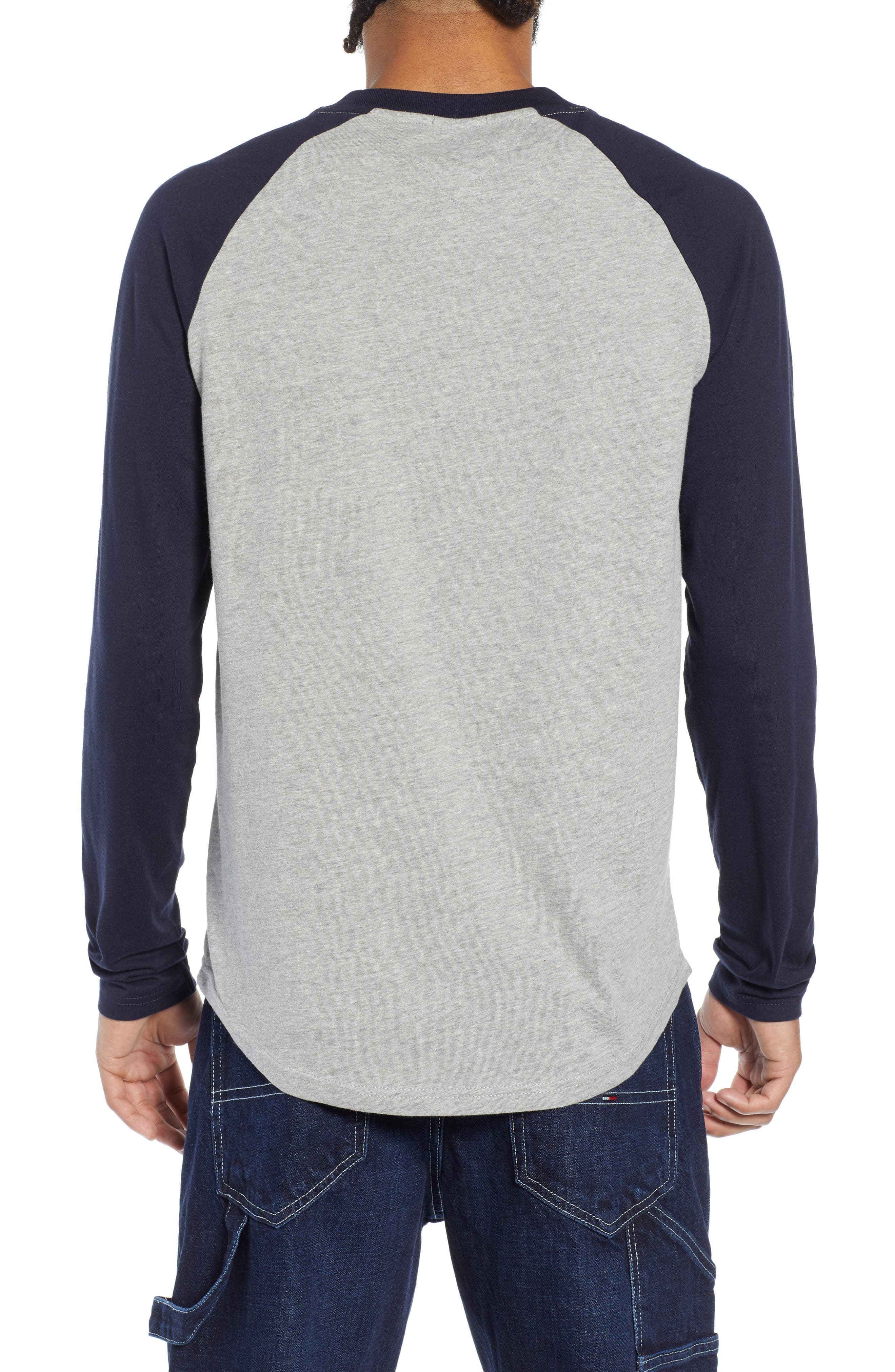 Long Sleeve Raglan T-Shirt,                             Alternate thumbnail 2, color,                             400