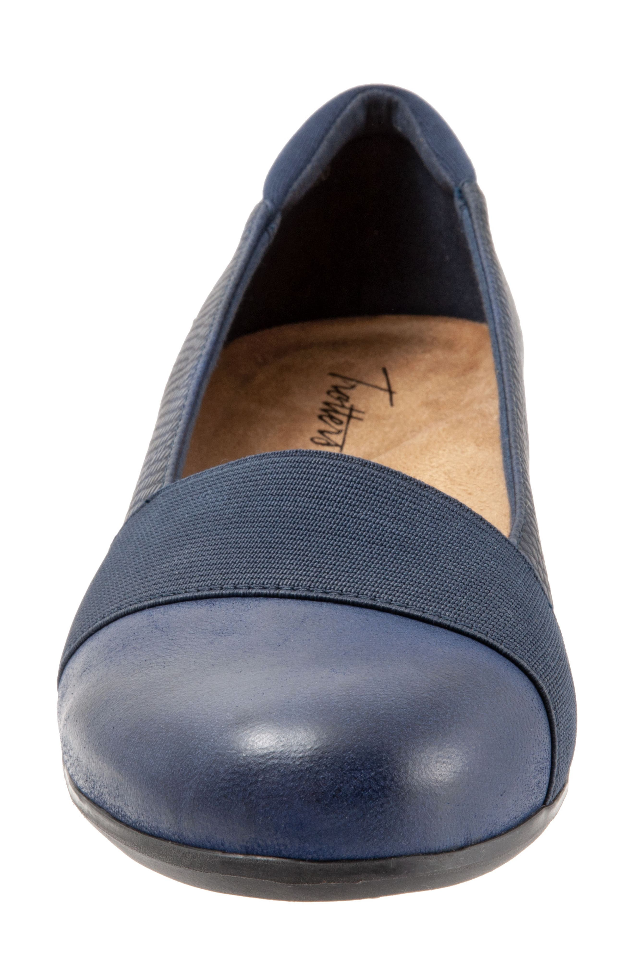 TROTTERS,                             Melinda Loafer,                             Alternate thumbnail 4, color,                             NAVY LEATHER