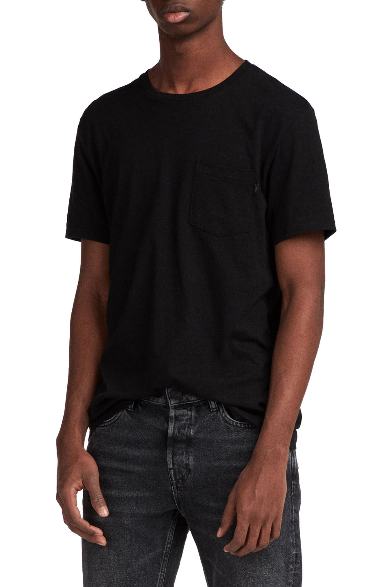 Cure Tonic Slim Fit Pocket T-Shirt,                             Main thumbnail 1, color,                             003
