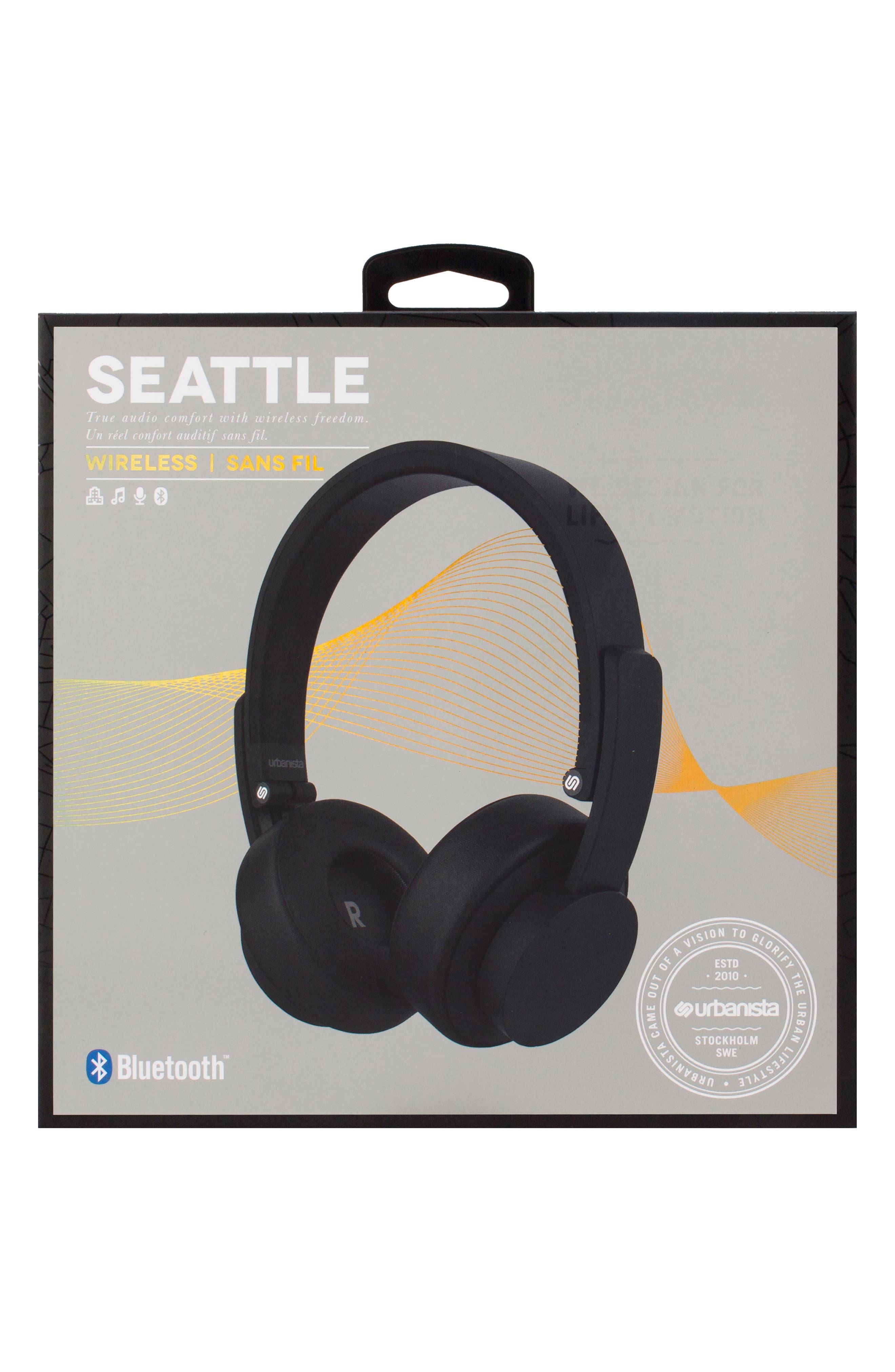 Seattle Wireless Headphones,                             Alternate thumbnail 4, color,                             001