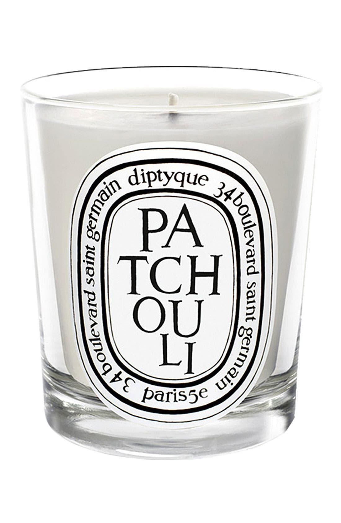Patchouli Scented Candle,                             Main thumbnail 1, color,                             NO COLOR