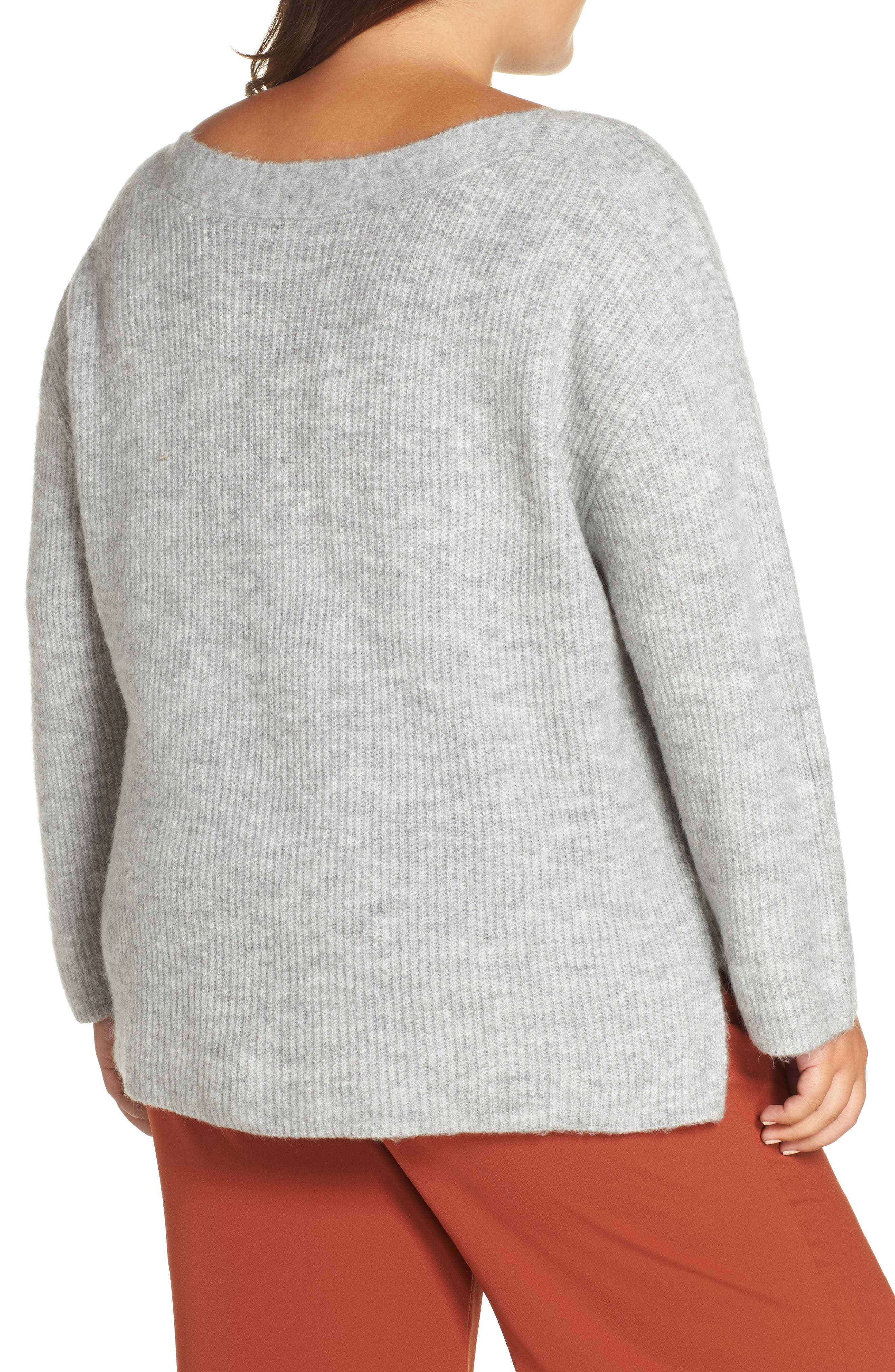 Cozy Femme Pullover Sweater,                             Alternate thumbnail 2, color,                             031