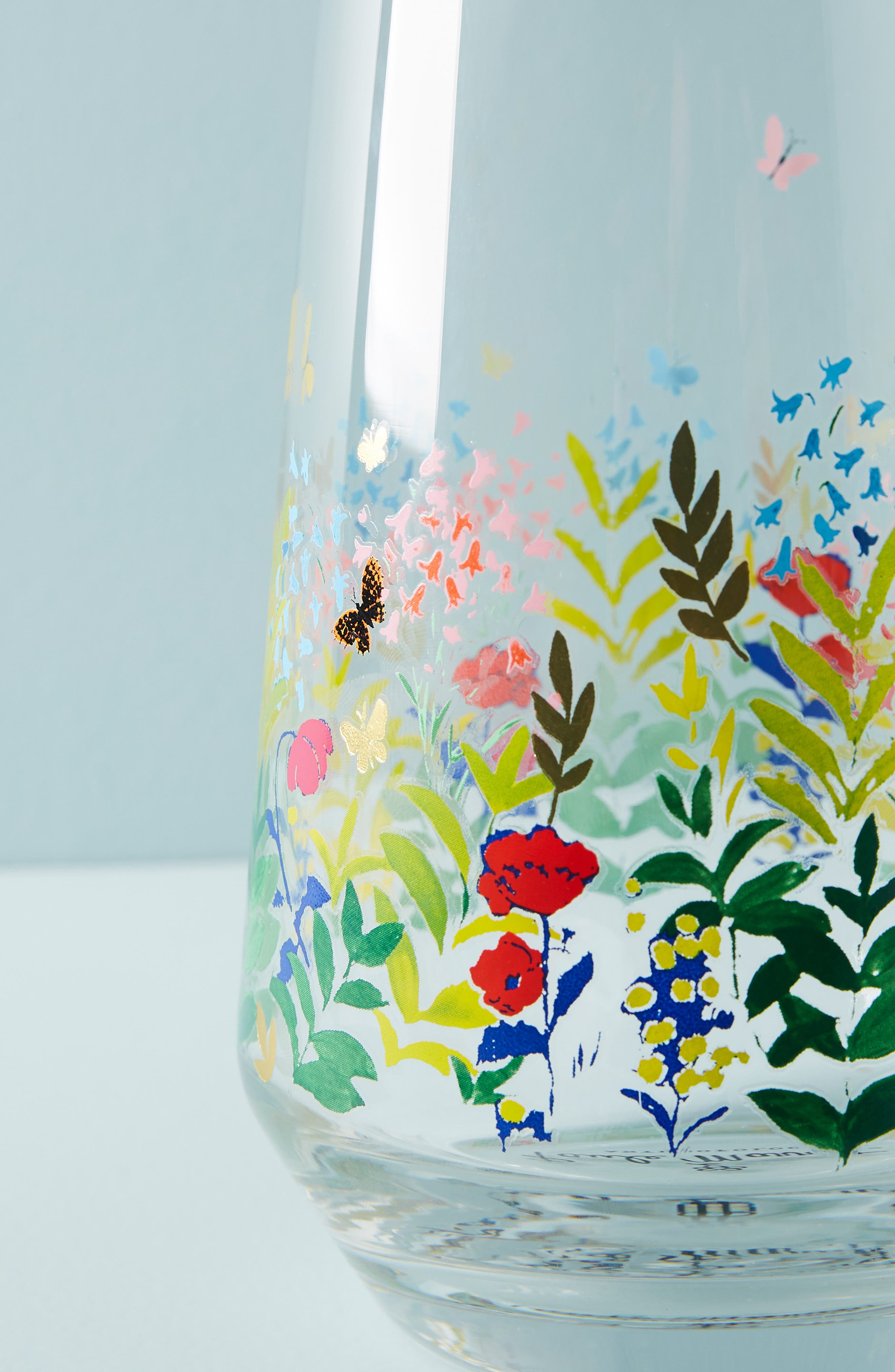 ANTHROPOLOGIE,                             Paule Marrot Garden Carafe,                             Alternate thumbnail 3, color,                             CLEAR