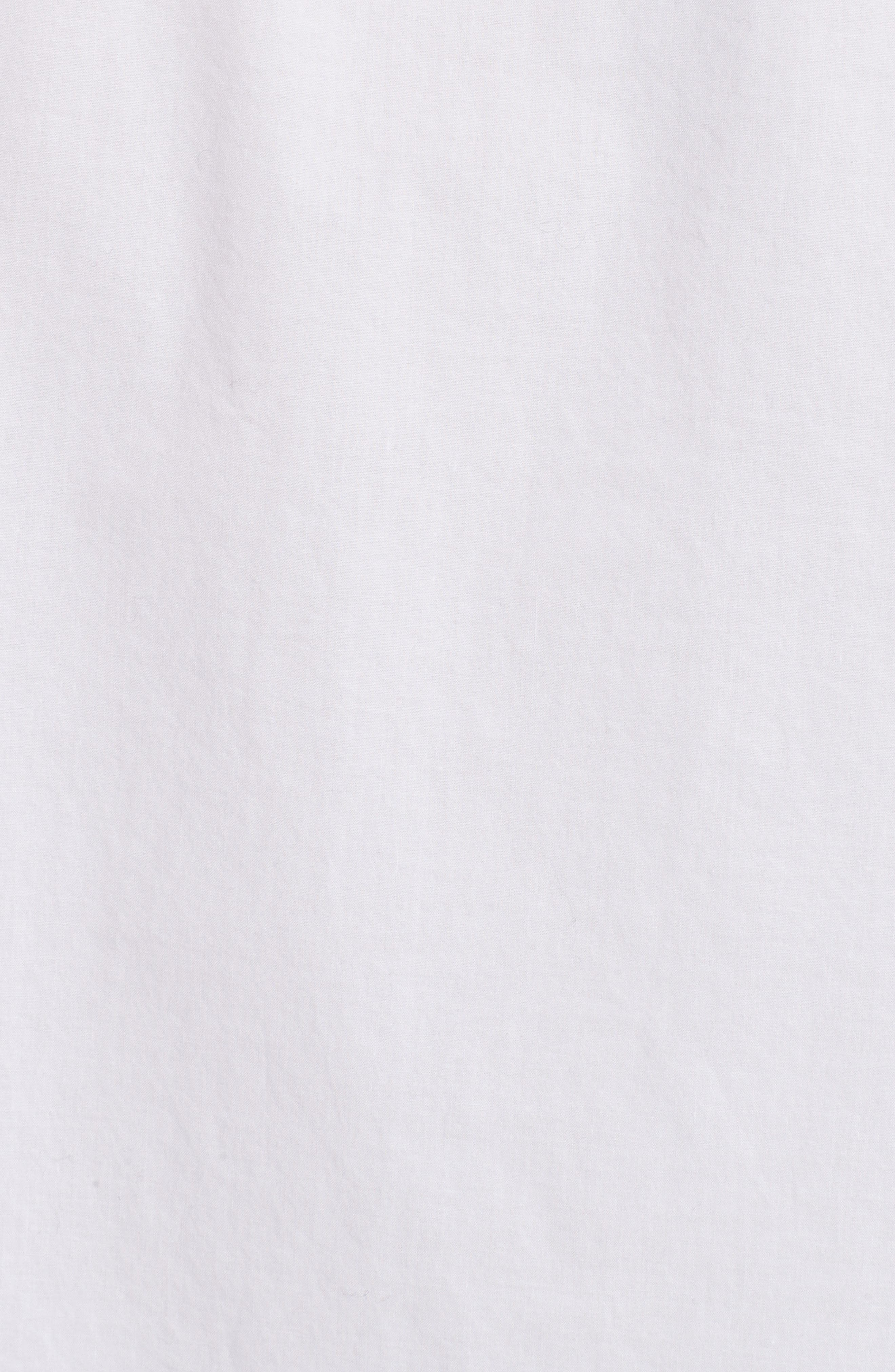 Cotton Poplin Boyfriend Shirt,                             Alternate thumbnail 5, color,                             100