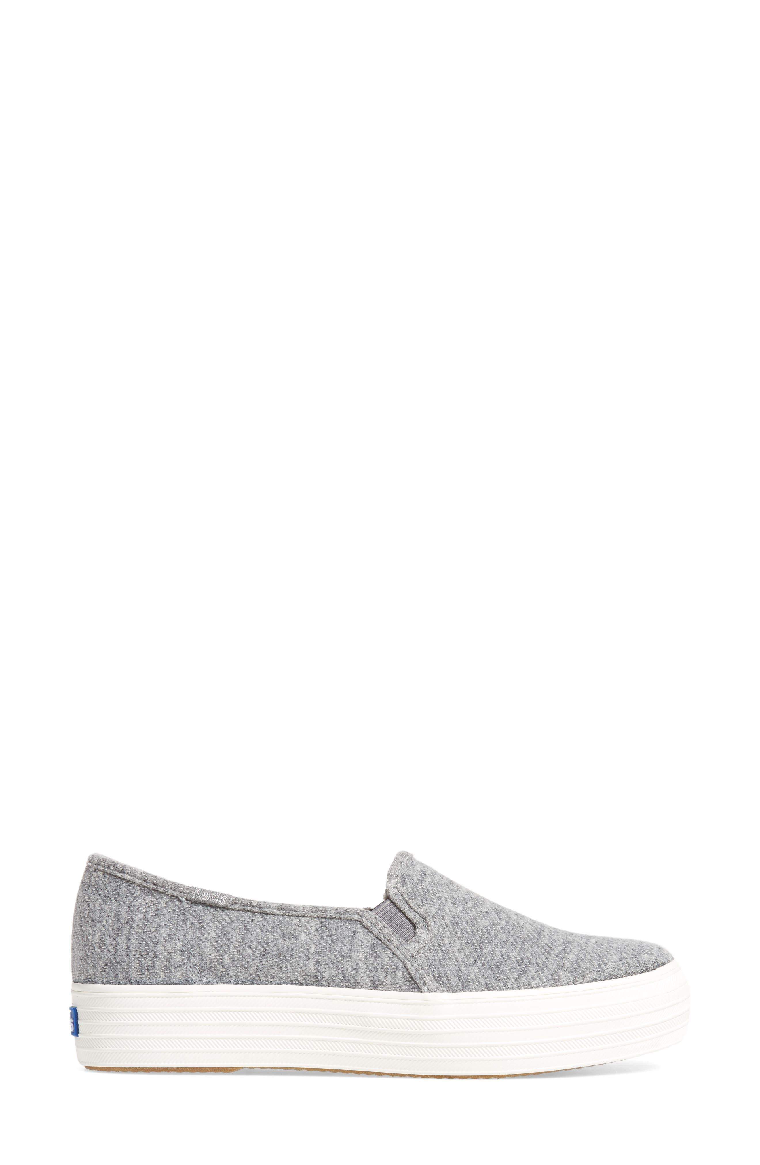 Triple Decker Slip-On Platform Sneaker,                             Alternate thumbnail 21, color,