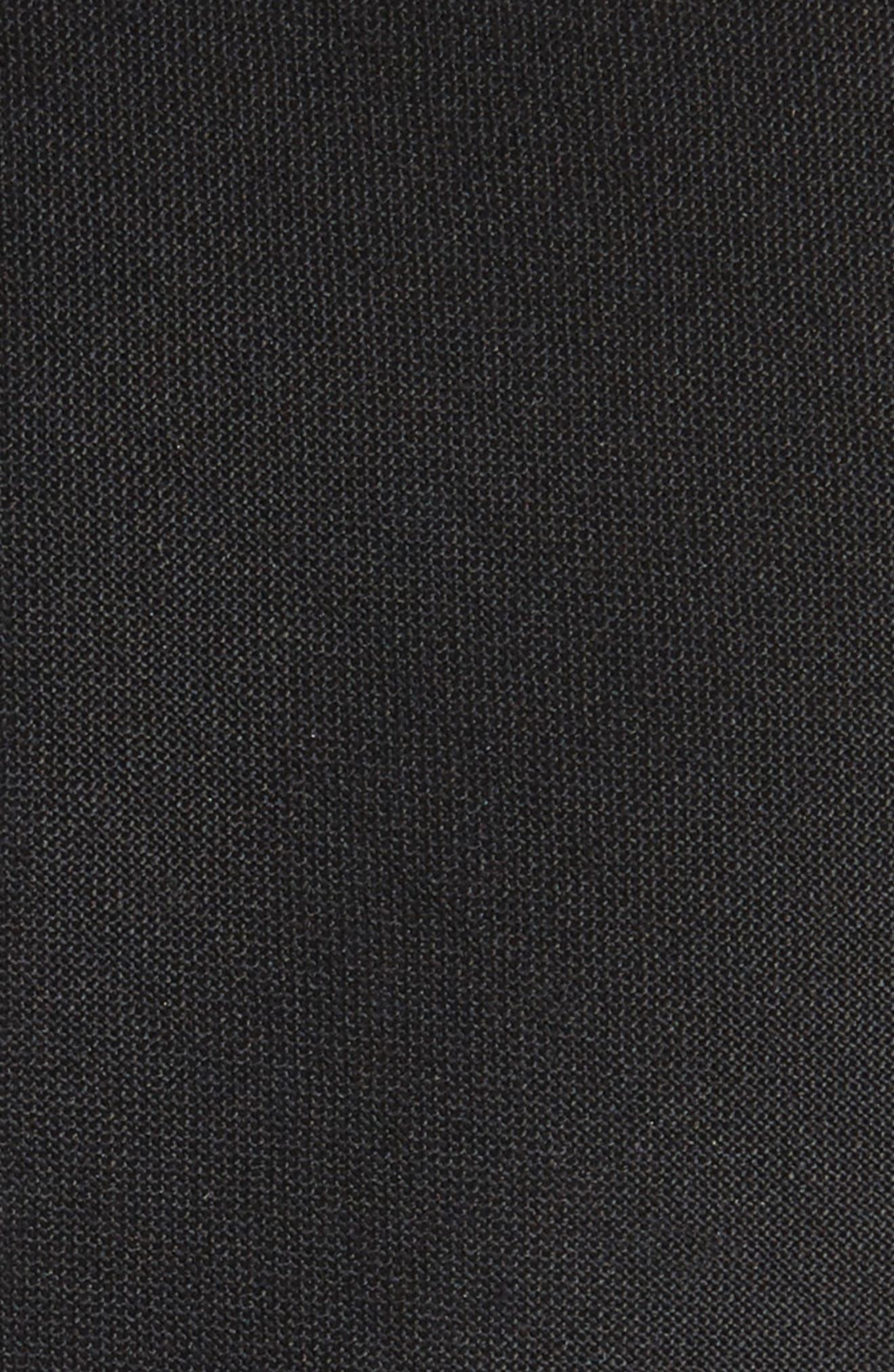 Marled Wool Skinny Tie,                             Alternate thumbnail 2, color,                             001