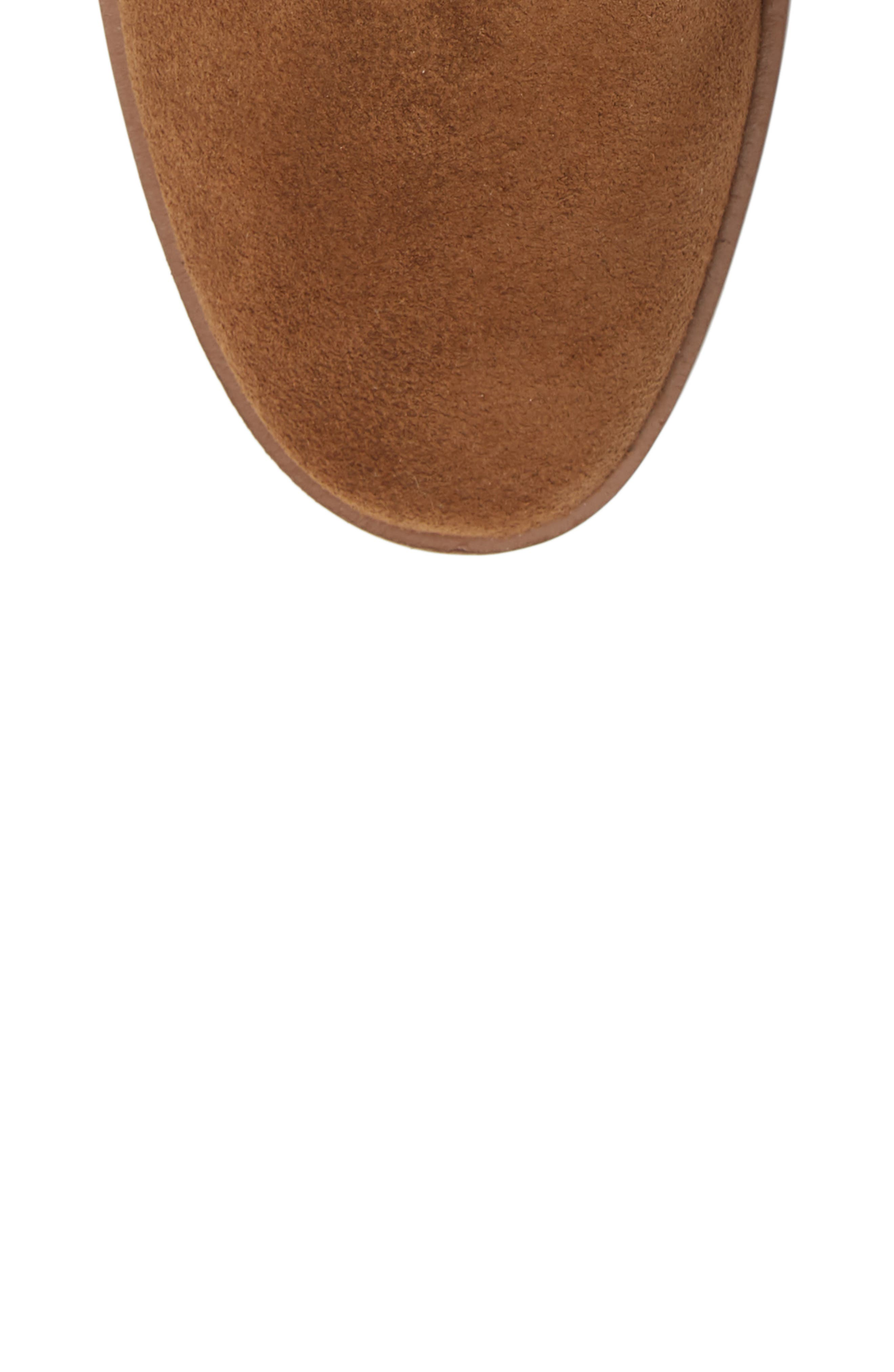 Calanth Bootie,                             Alternate thumbnail 5, color,                             TOBACCO SUEDE
