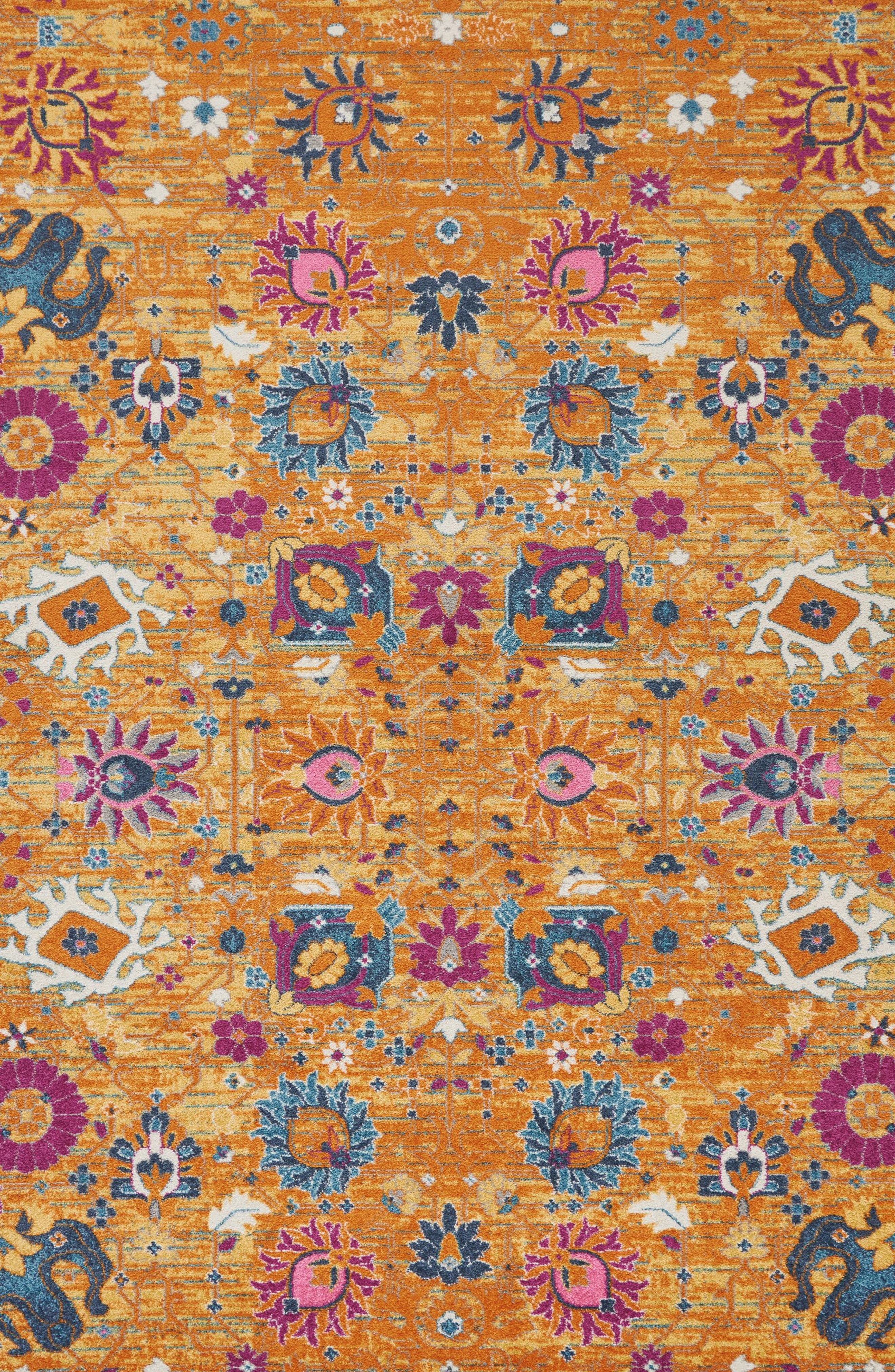 Sunburst Rug,                             Alternate thumbnail 4, color,                             800
