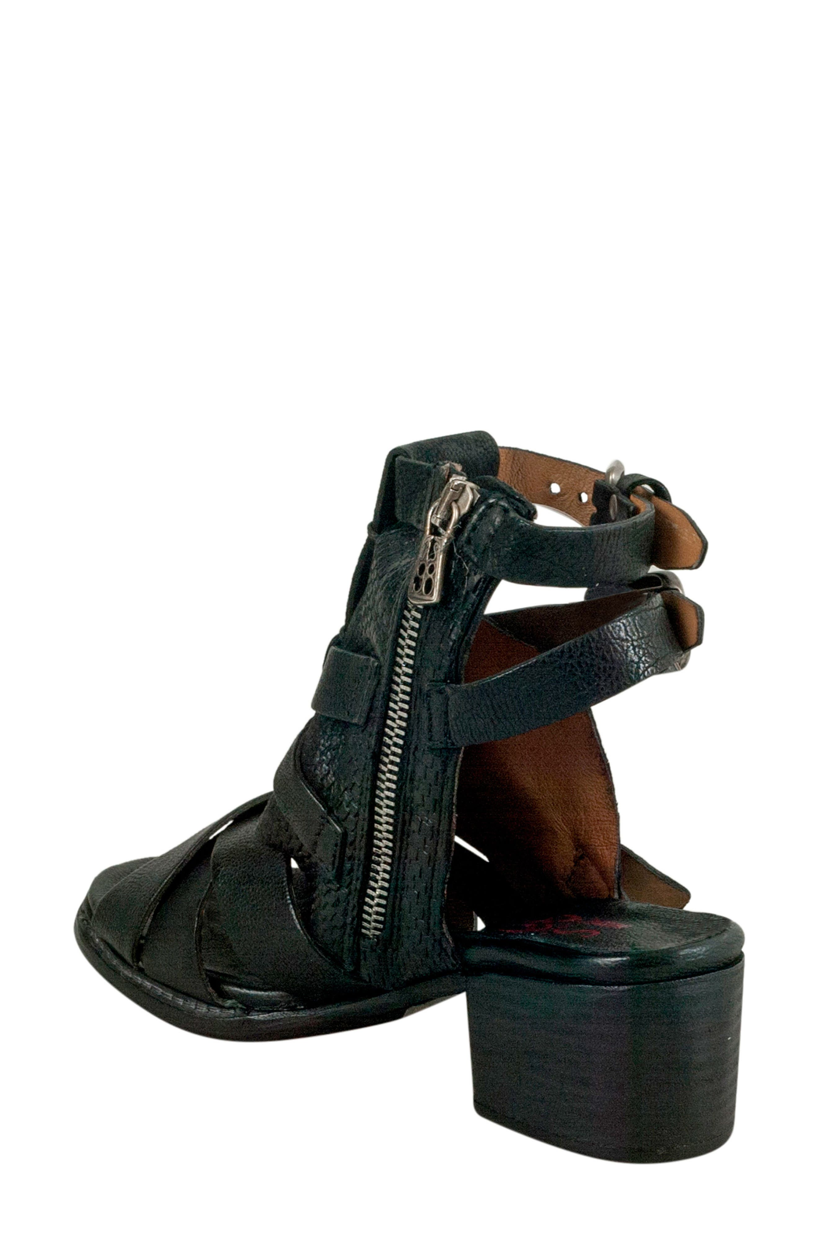 A.S.98,                             Pennie Gladiator Sandal,                             Alternate thumbnail 2, color,                             001