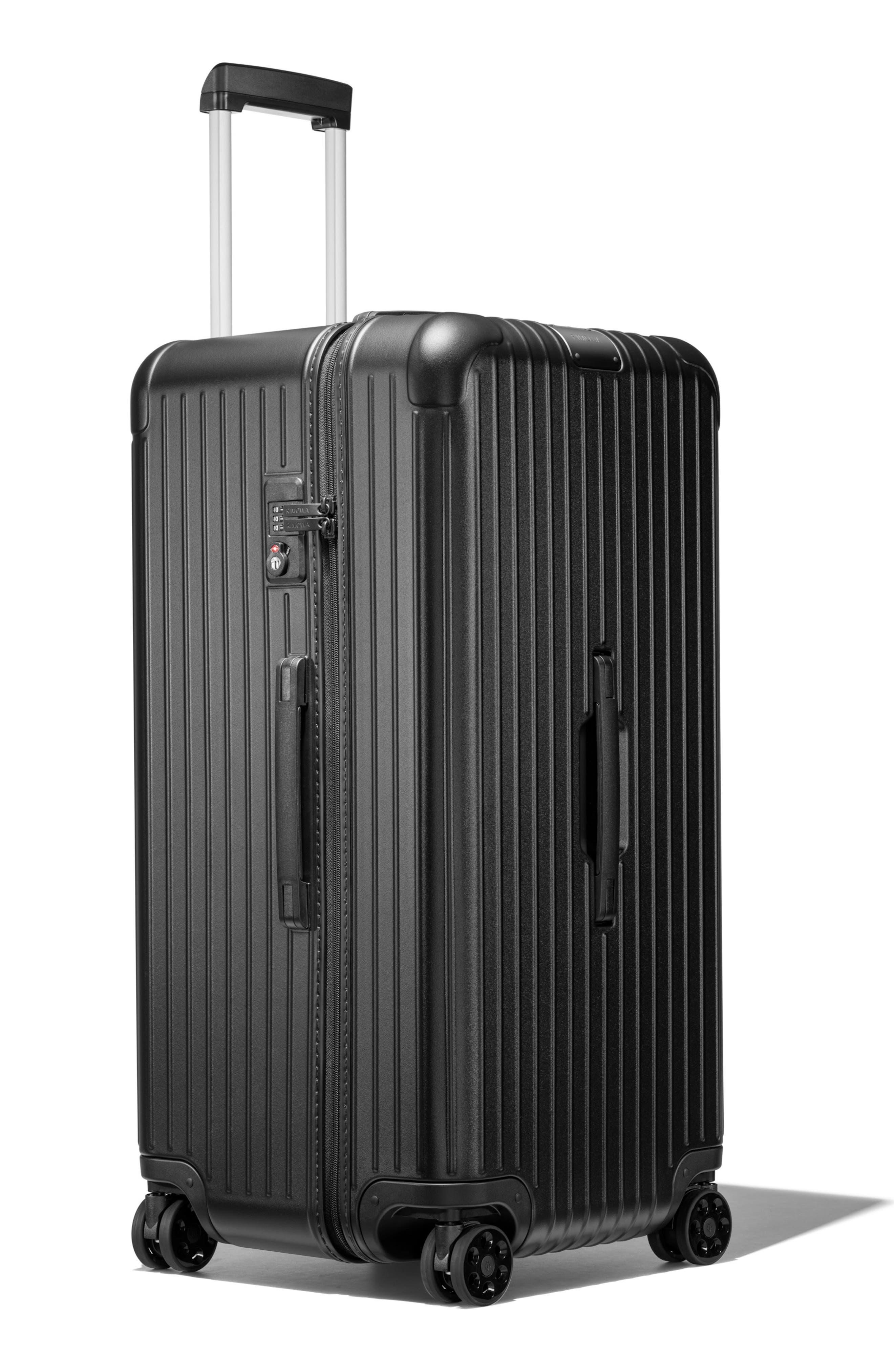 Essential Trunk Plus 32-Inch Packing Case,                             Alternate thumbnail 4, color,                             MATTE BLACK