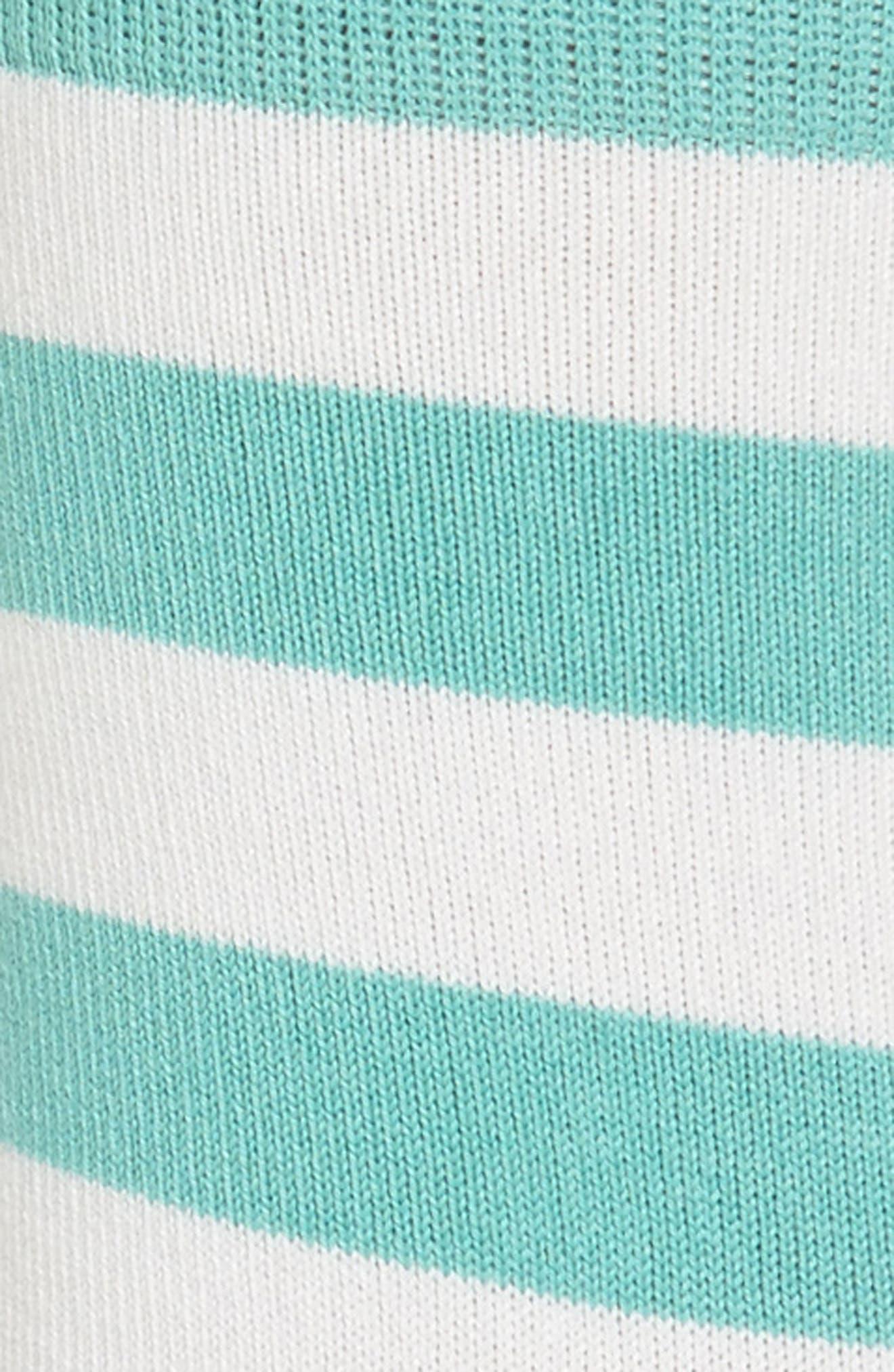 Fearne Stripe Crew Socks,                             Alternate thumbnail 2, color,                             440