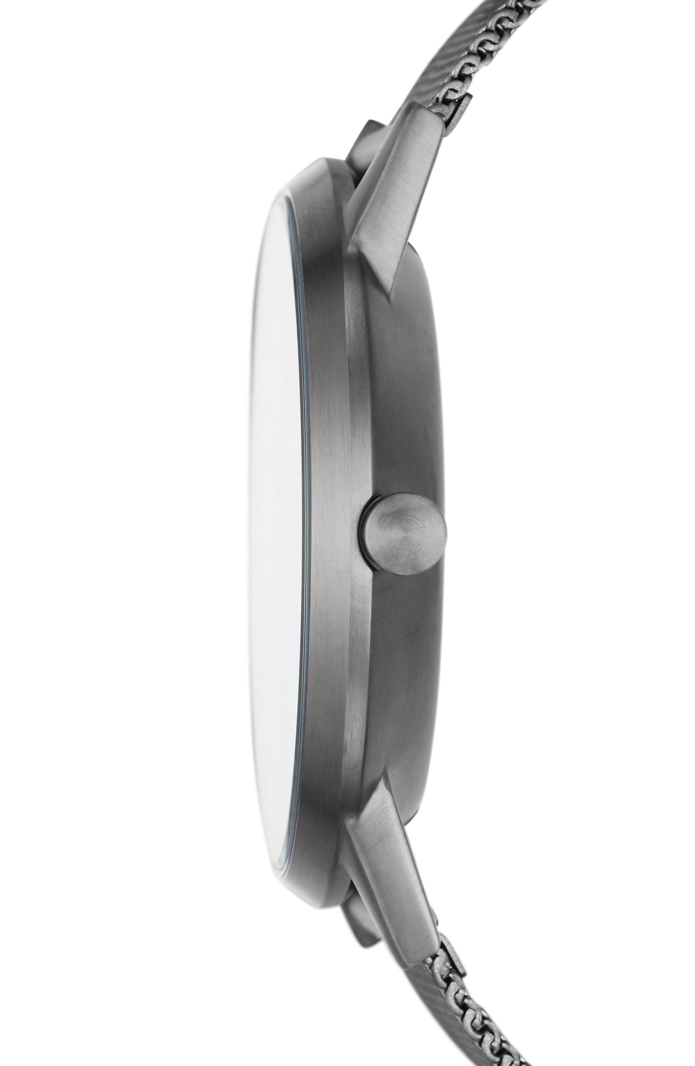 Designs Kristoffer Multifunction Mesh Strap Watch, 42mm,                             Alternate thumbnail 2, color,                             020