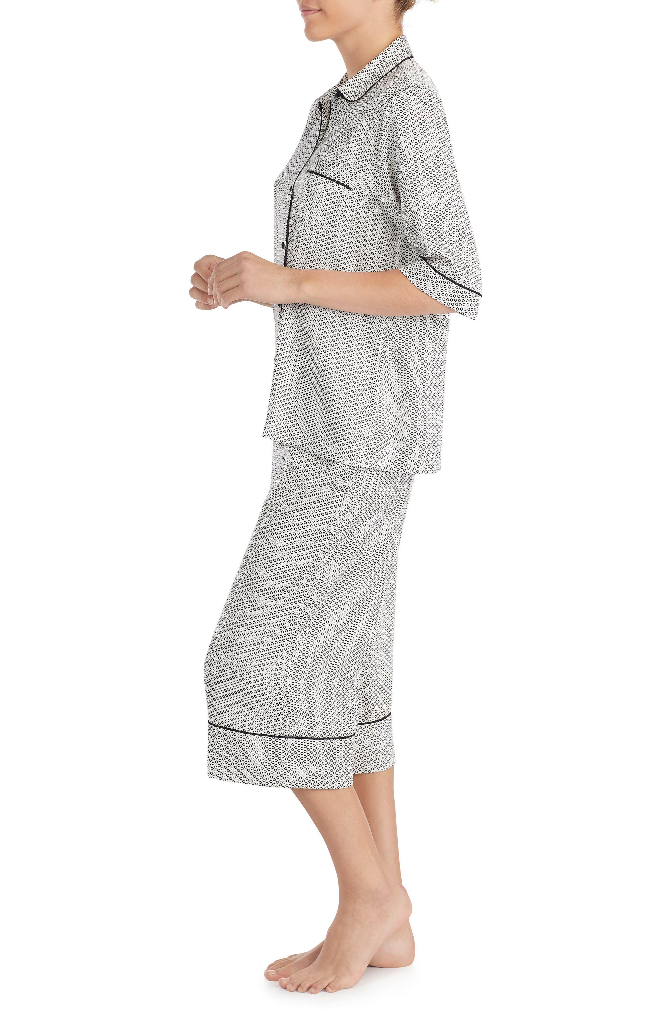 capri pajamas,                             Alternate thumbnail 3, color,                             101