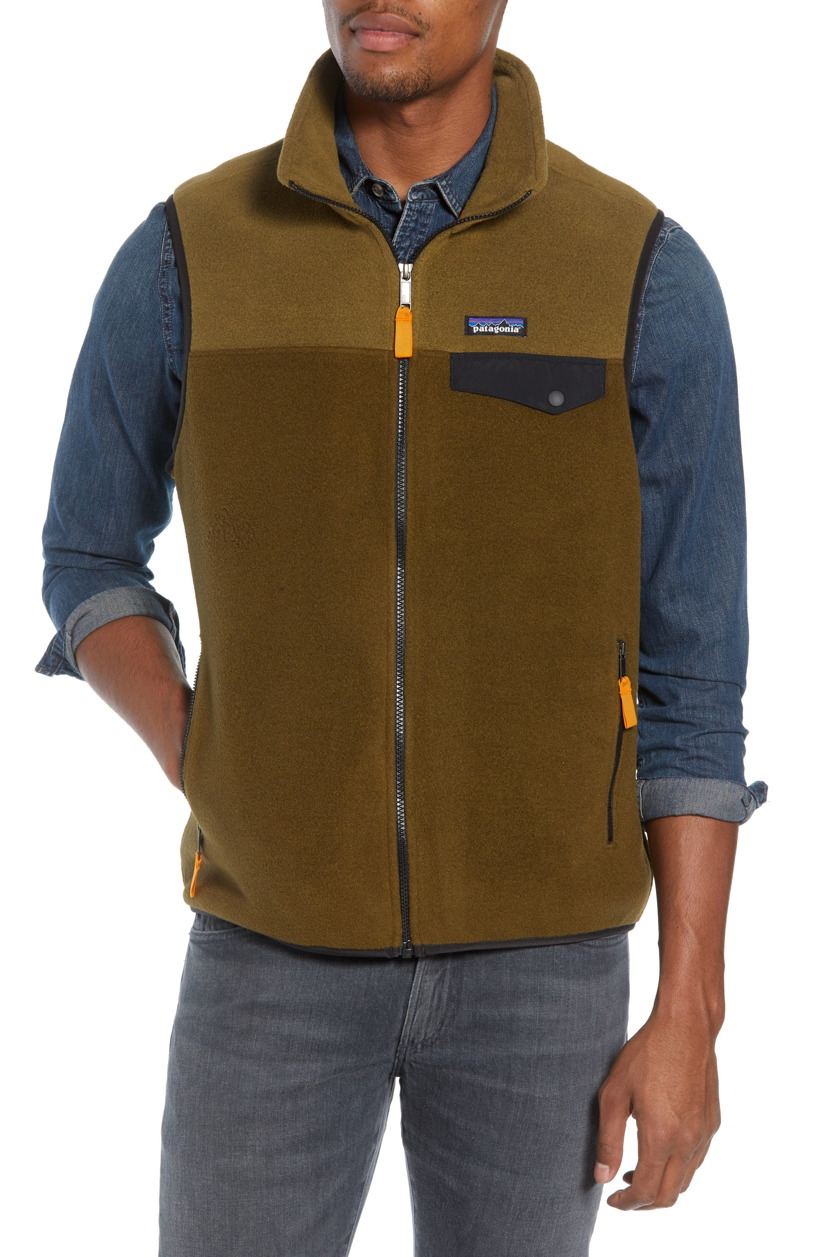 PATAGONIA,                             Synchilla<sup>®</sup>Snap-T<sup>®</sup> Zip FleeceVest,                             Alternate thumbnail 4, color,                             201