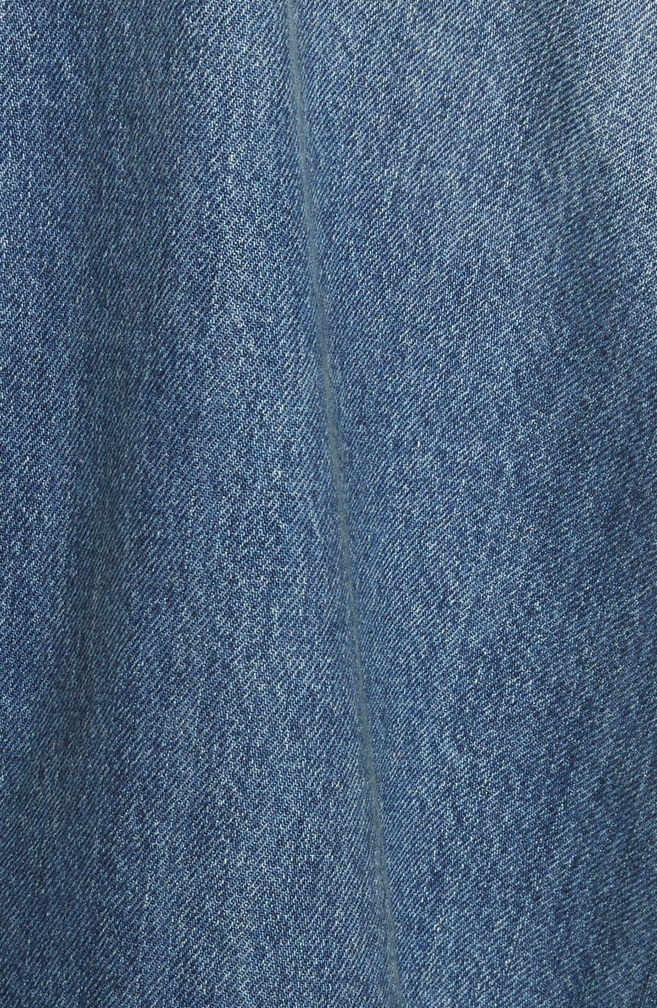 Denim Dress,                             Alternate thumbnail 5, color,                             404